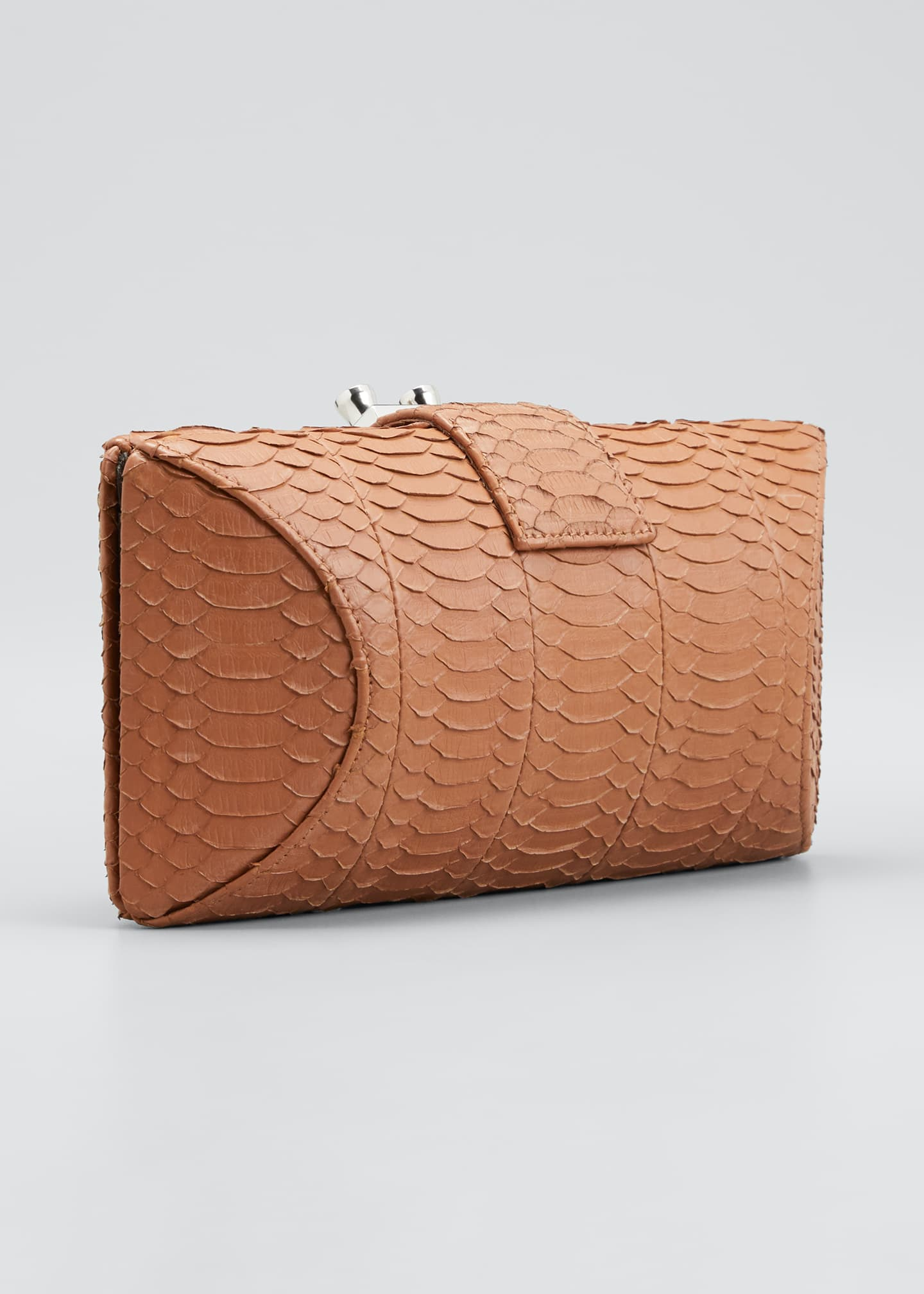 Image 3 of 5: Snake Clutch Bag