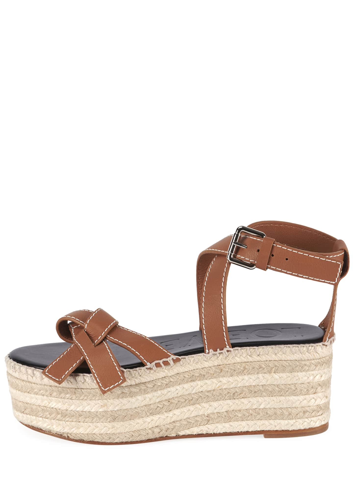 Image 2 of 4: Gate Wedge High Espadrilles