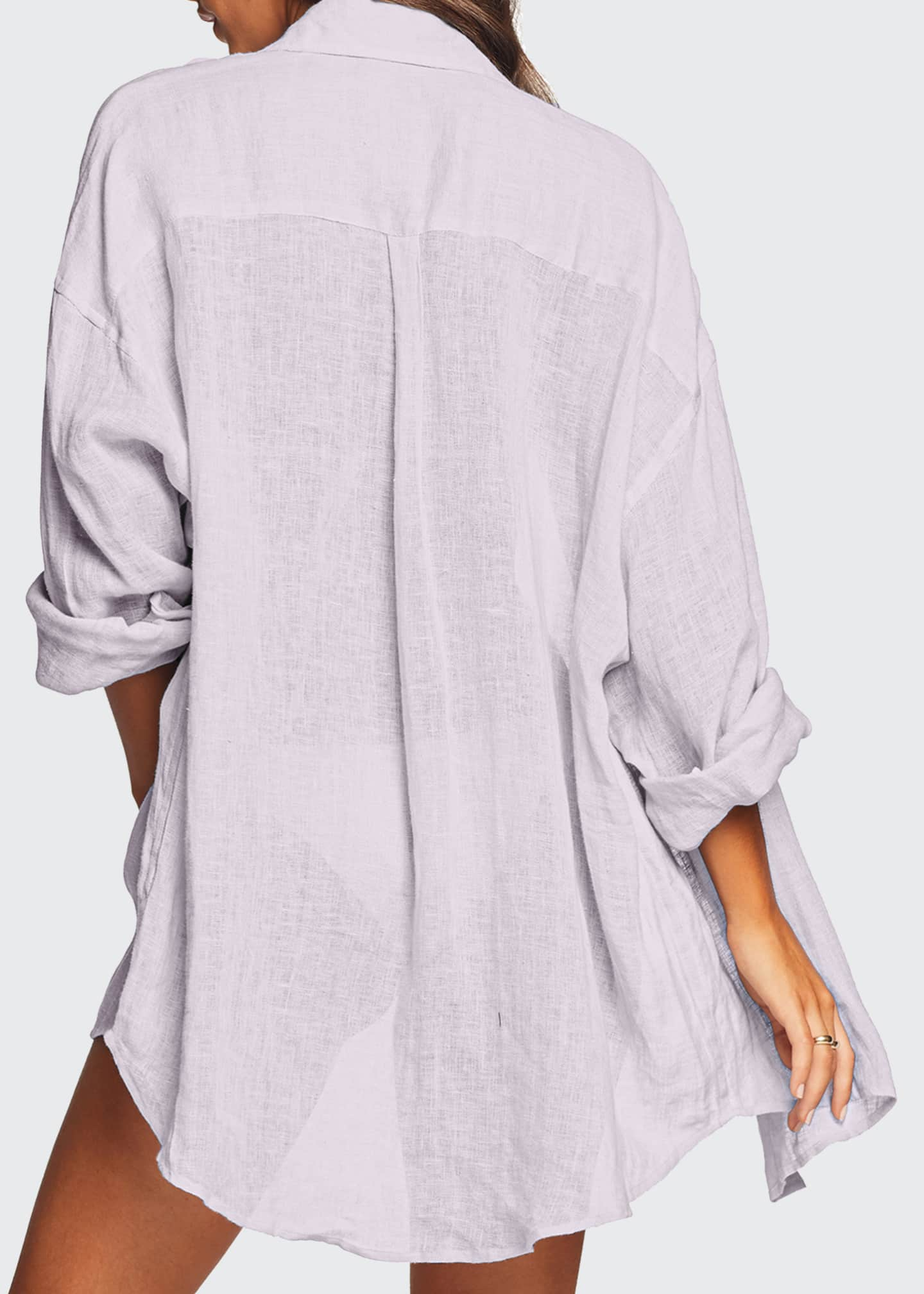Image 2 of 3: Playa Coverup Shirt