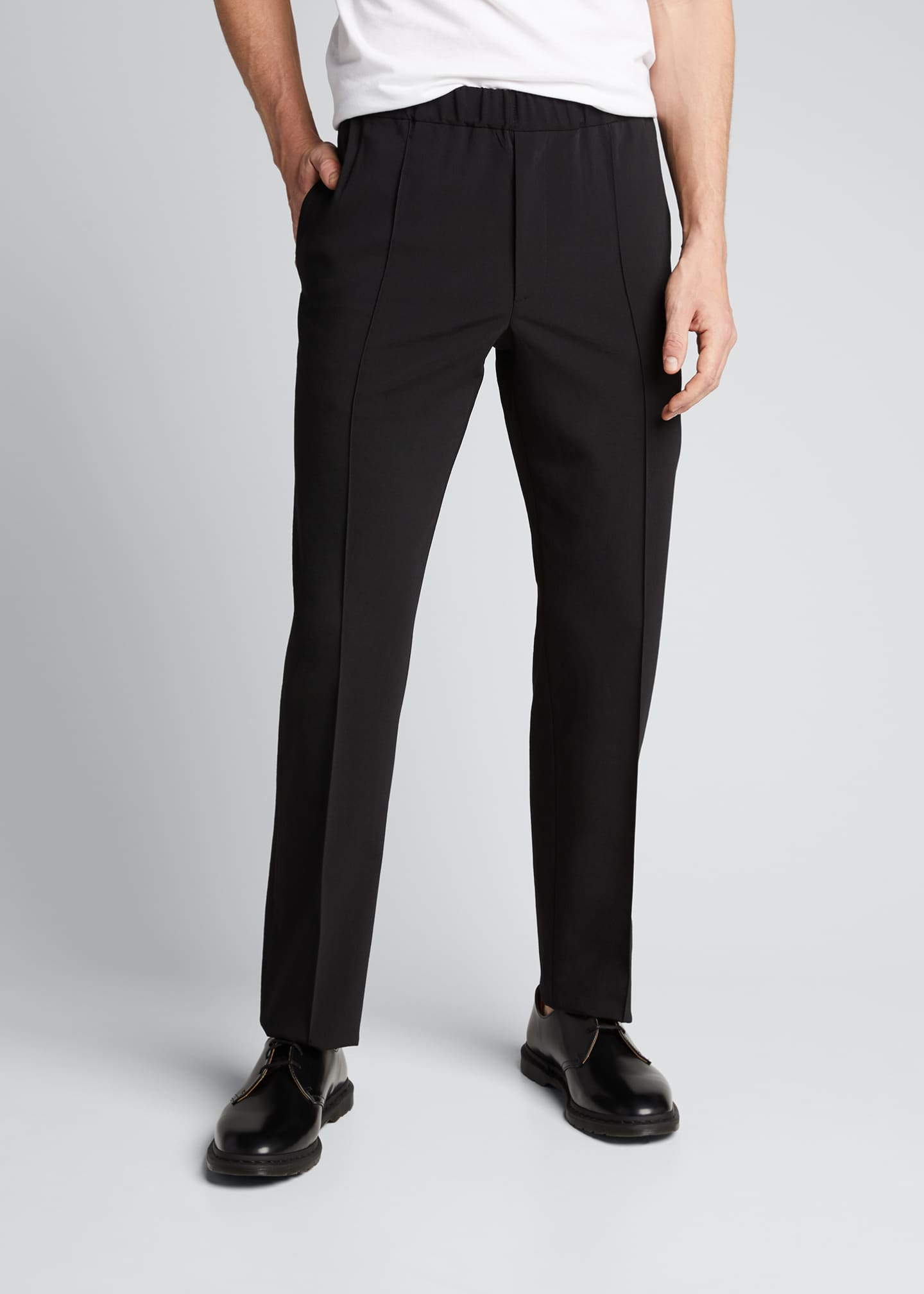 Image 3 of 5: Men's Crushed Suiting Pull-On Pants