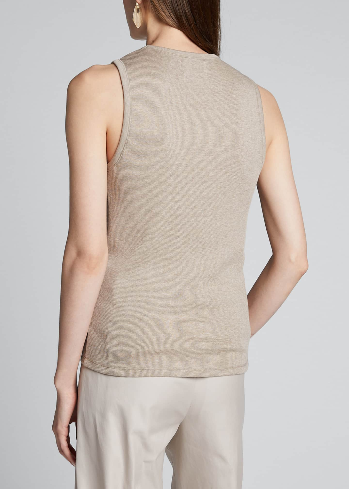 Image 2 of 5: Egyptian Cotton Layering Tank