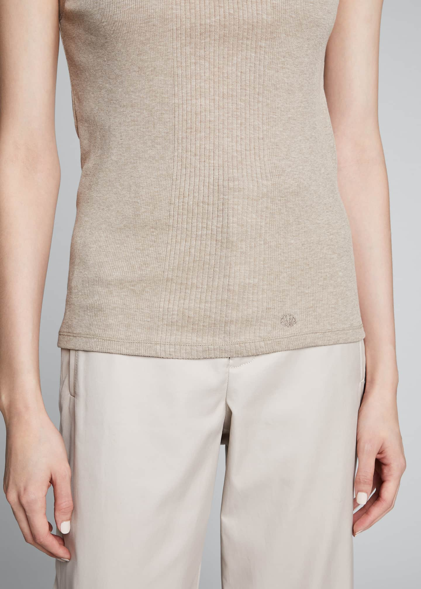 Image 4 of 5: Egyptian Cotton Layering Tank