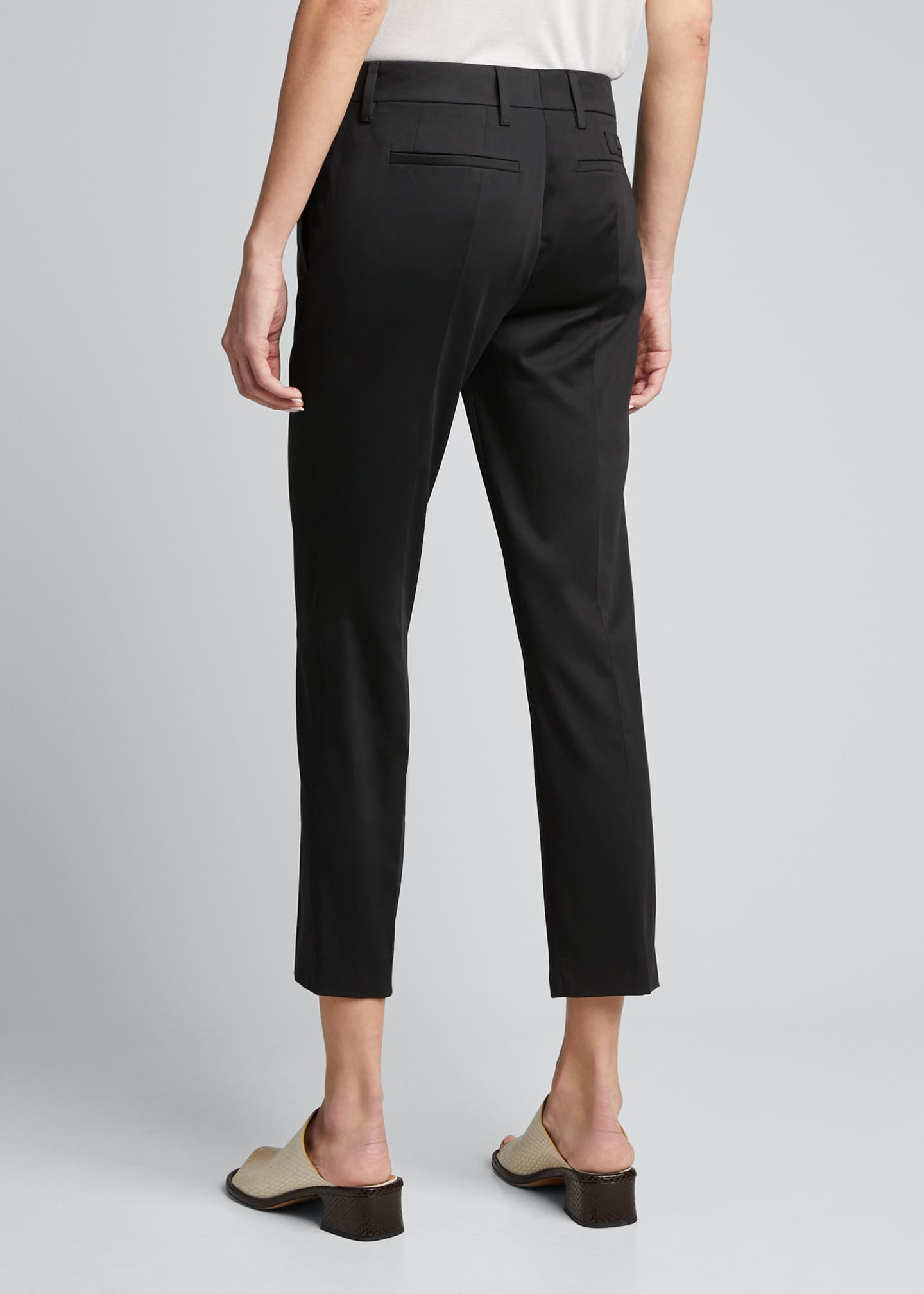 Image 2 of 4: Stretch Cotton Classic Pants