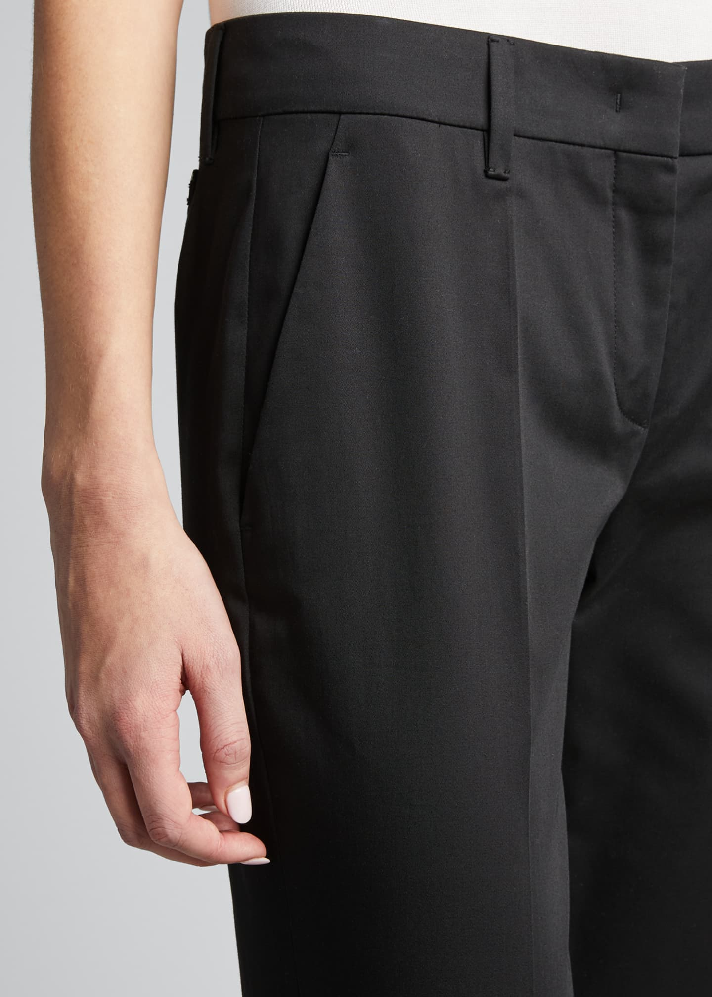 Image 4 of 4: Stretch Cotton Classic Pants