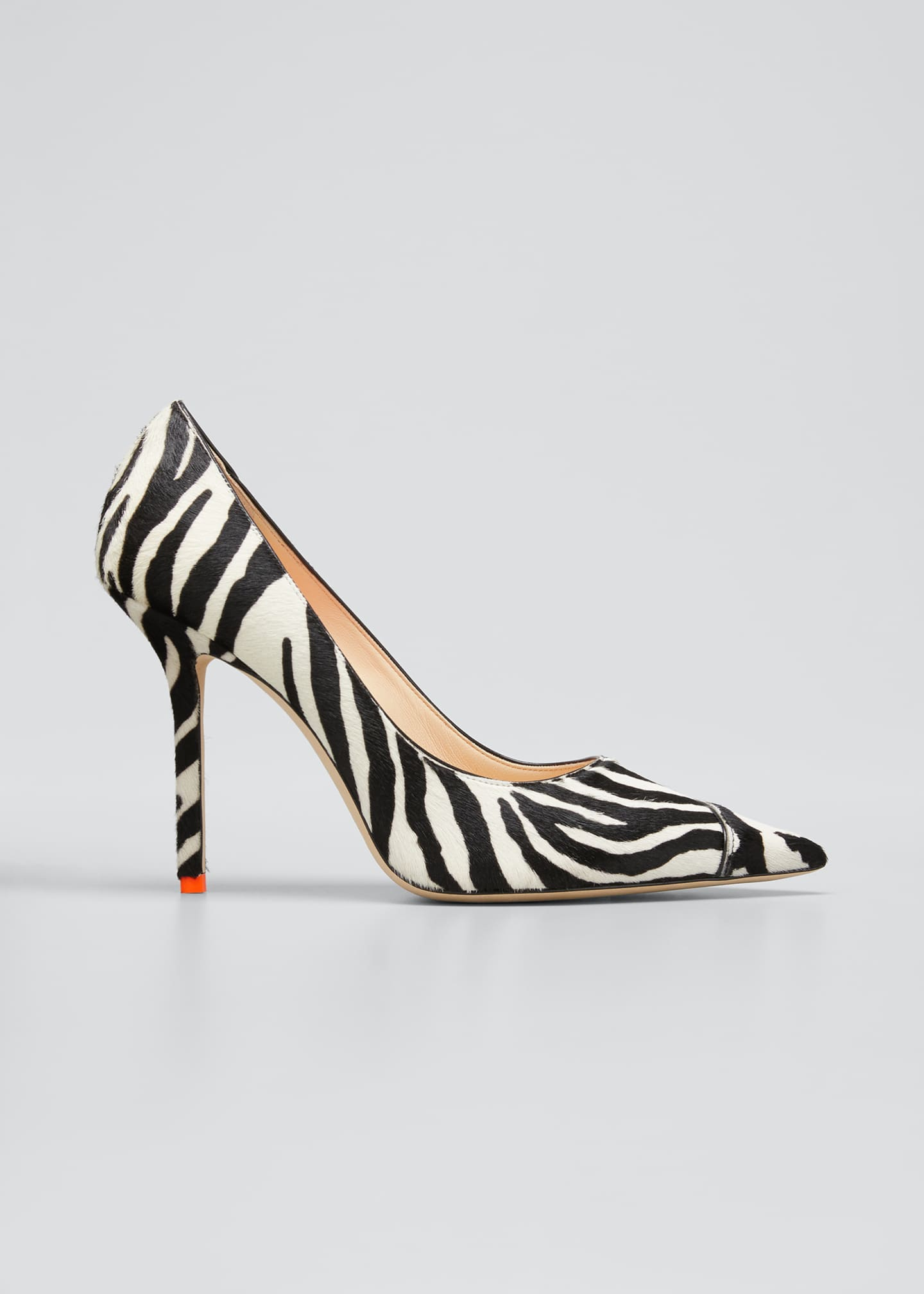 Image 1 of 5: 100mm Love Animal-Print Pumps