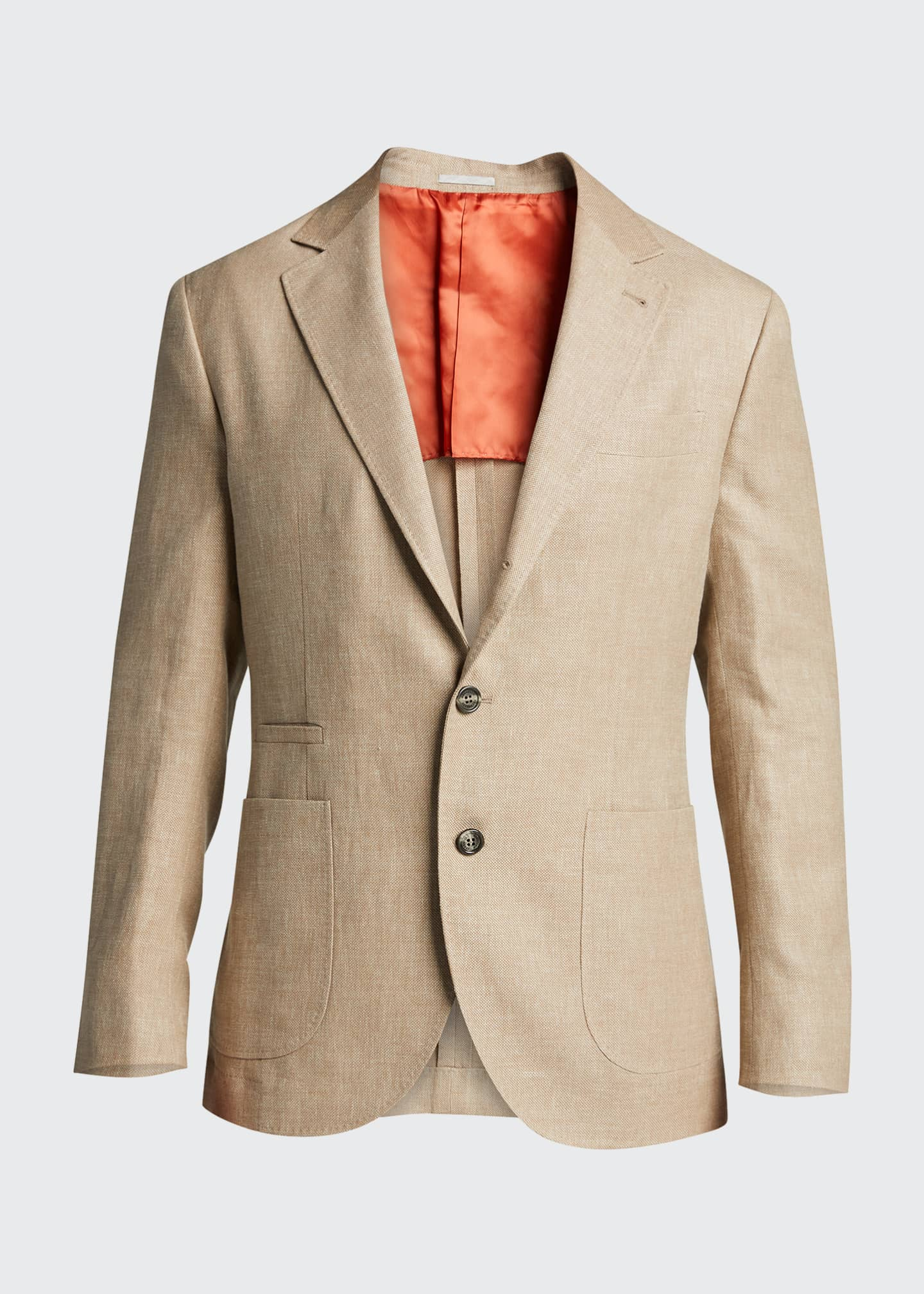Image 5 of 5: Men's Hopsack Two-Button Jacket