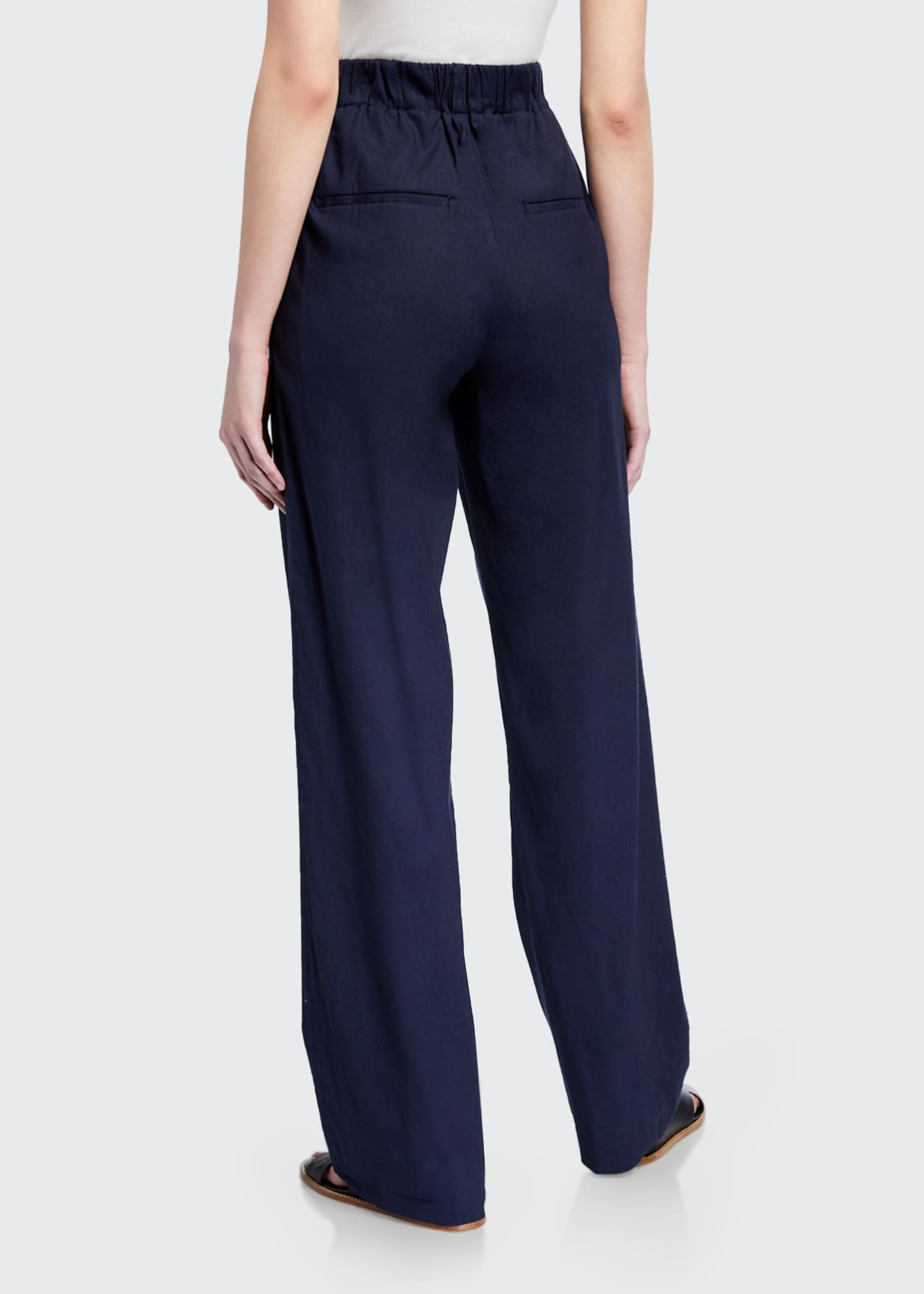 Image 2 of 3: Pleated Front Pull-on Pants