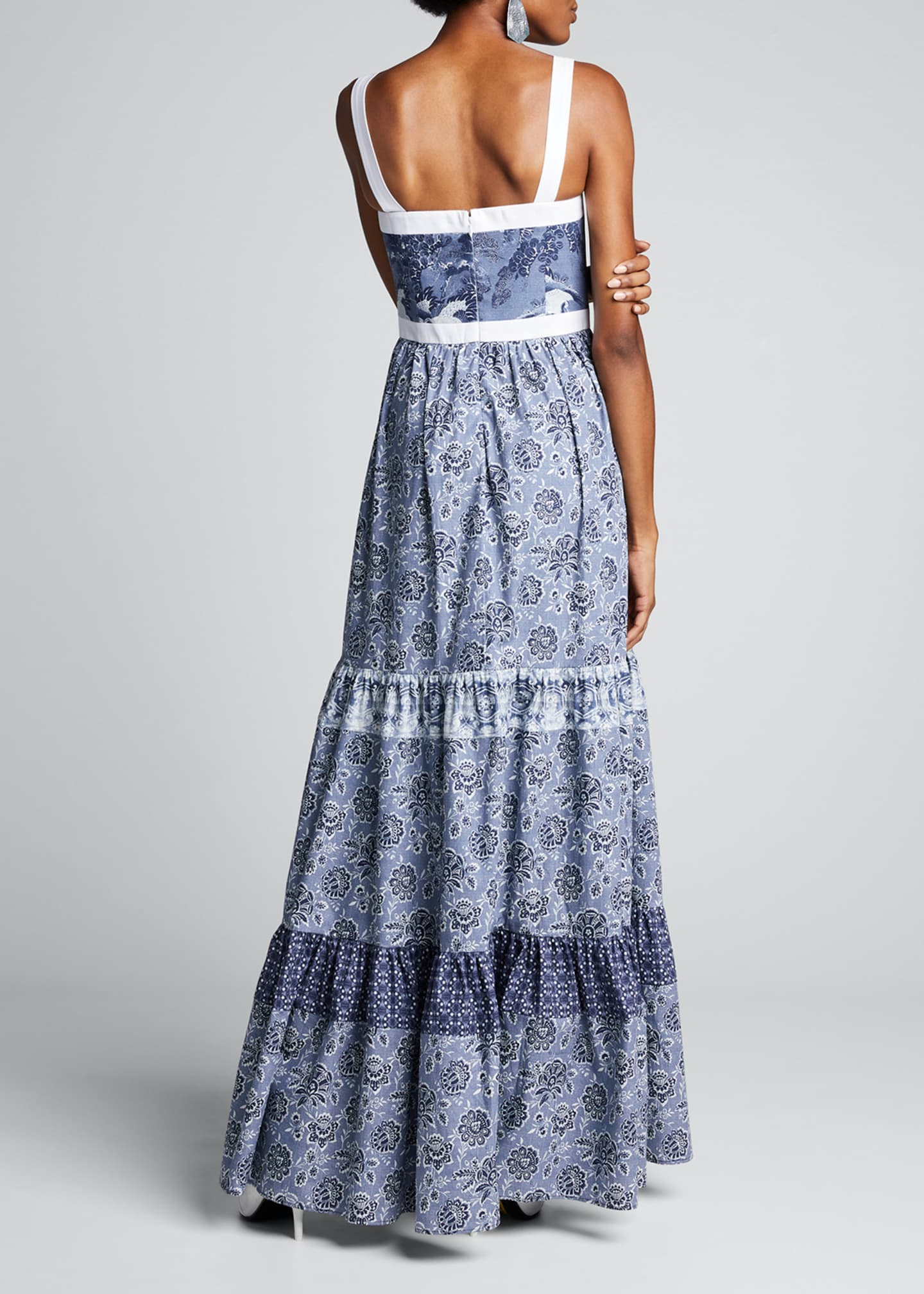 Image 2 of 5: Jemma Printed Tiered Dress