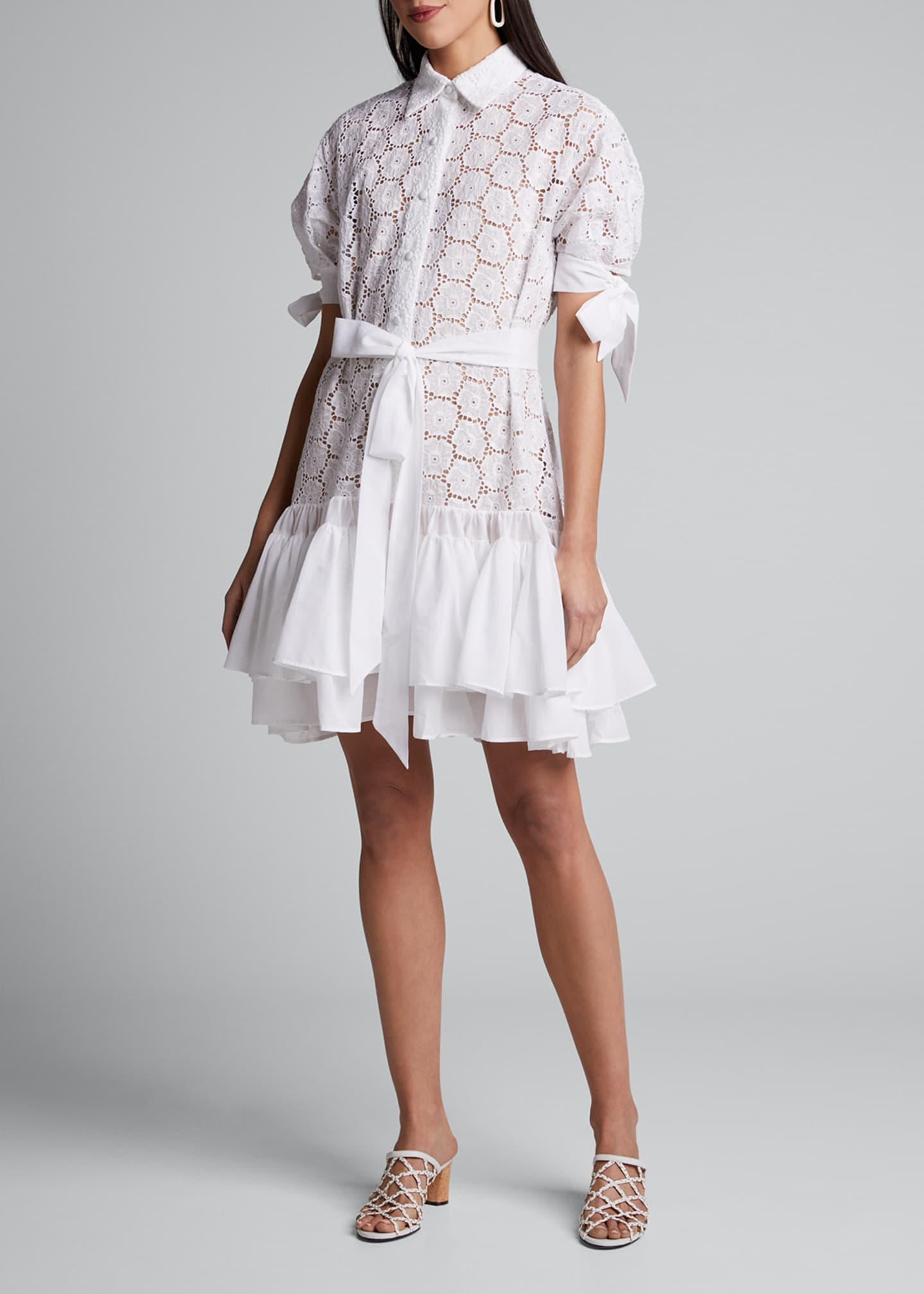 Evi Grintela Madrasa Lace Short Dress