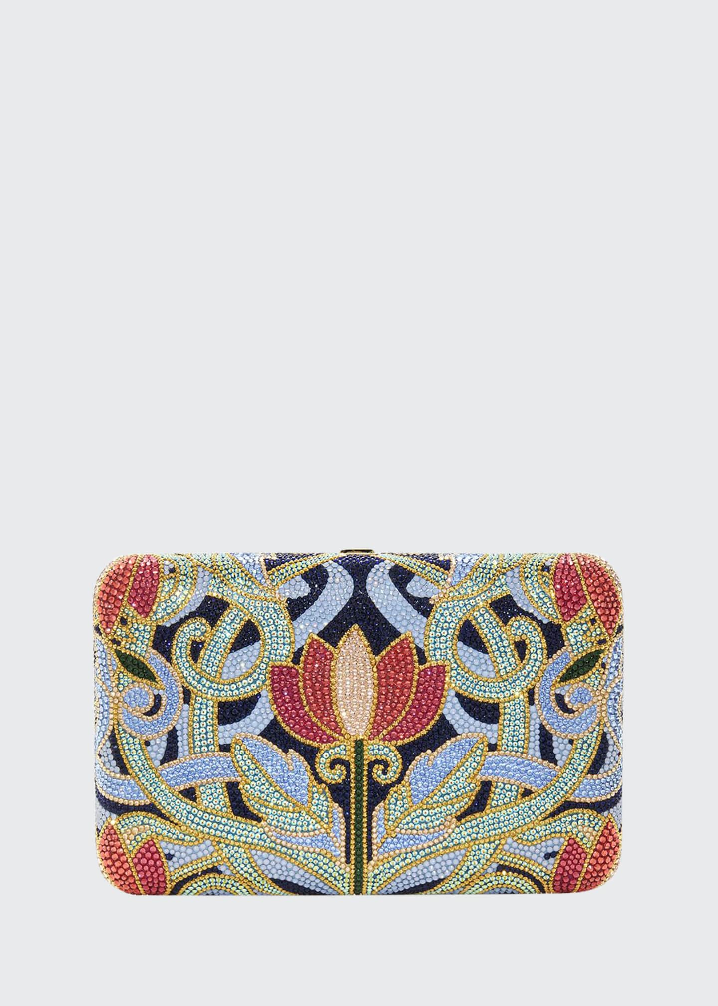 Judith Leiber Couture Seamless Lotus Clutch Bag
