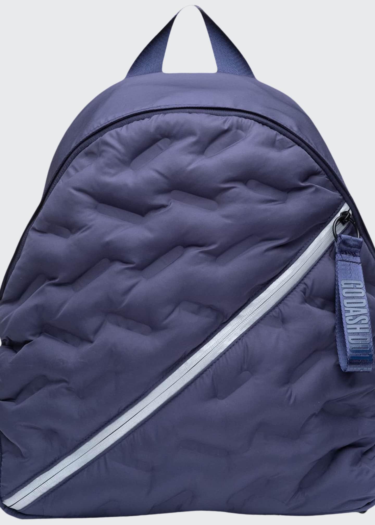 Go Dash Dot Puffy Backpack