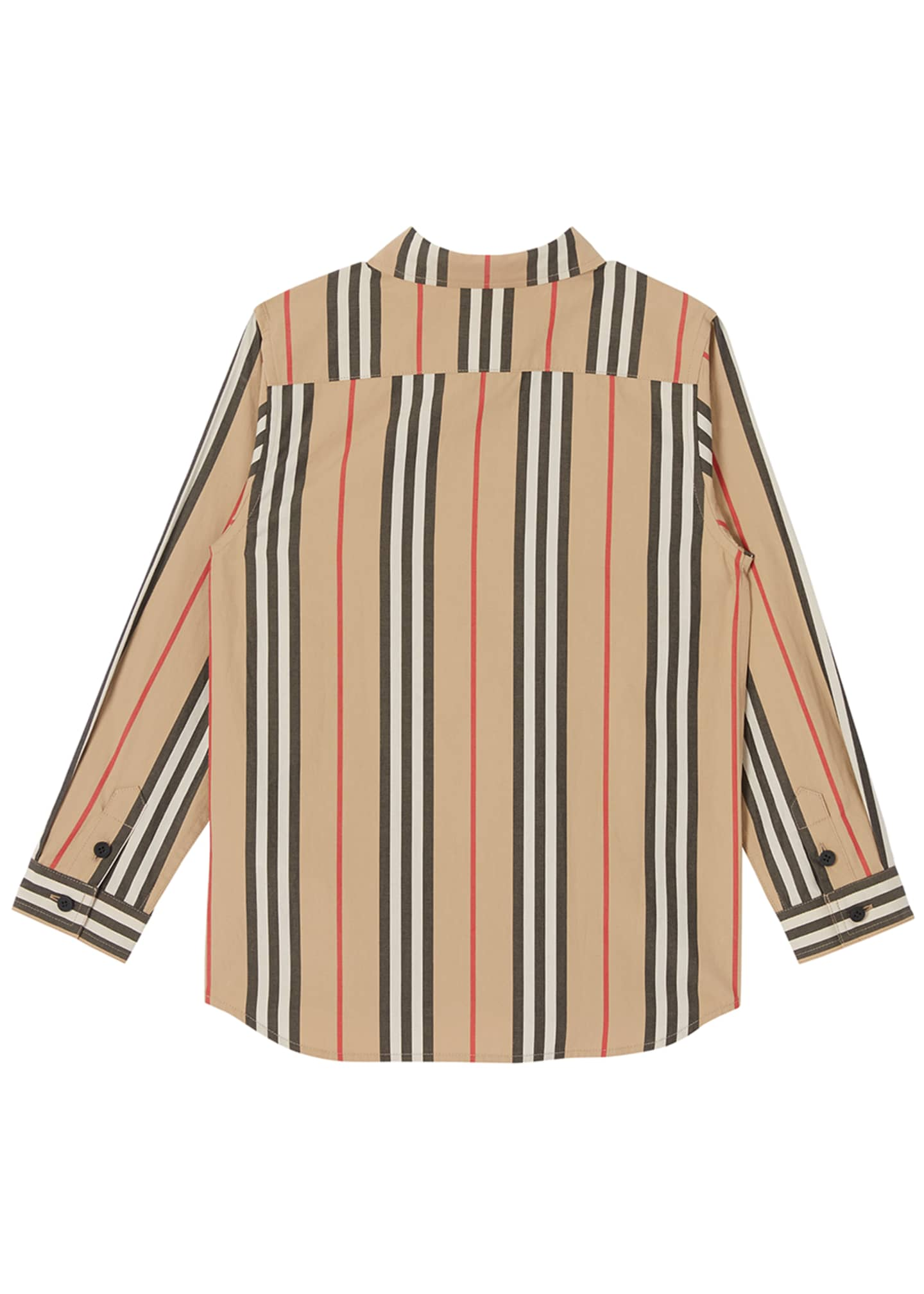 Image 3 of 3: Boy's Fredrick Icon Stripe Long-Sleeve Shirt, Size 3-14