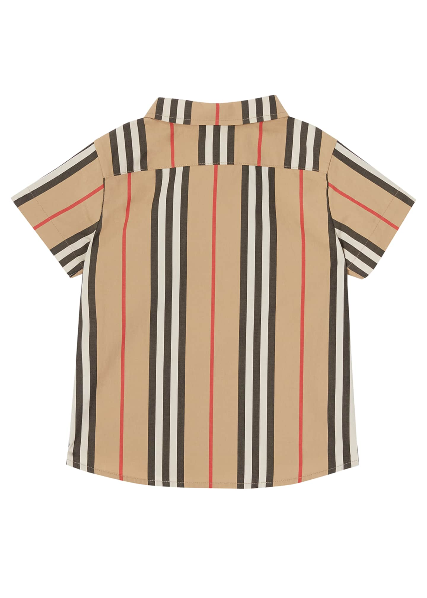 Image 3 of 4: Boy's Fredrick Icon Stripe Shirt, Size 6M-2