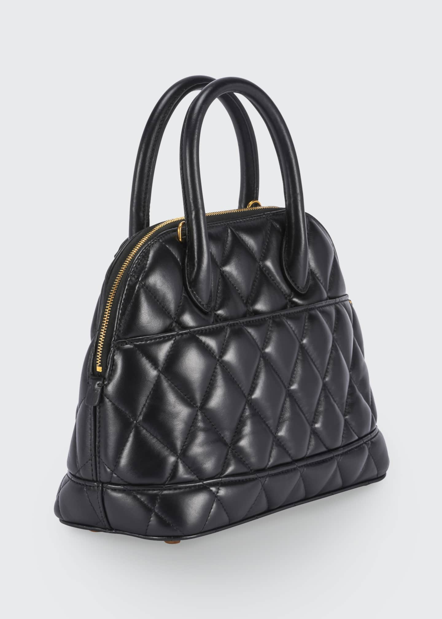 Image 2 of 2: Ville AJ Small Quilted Top-Handle Bag