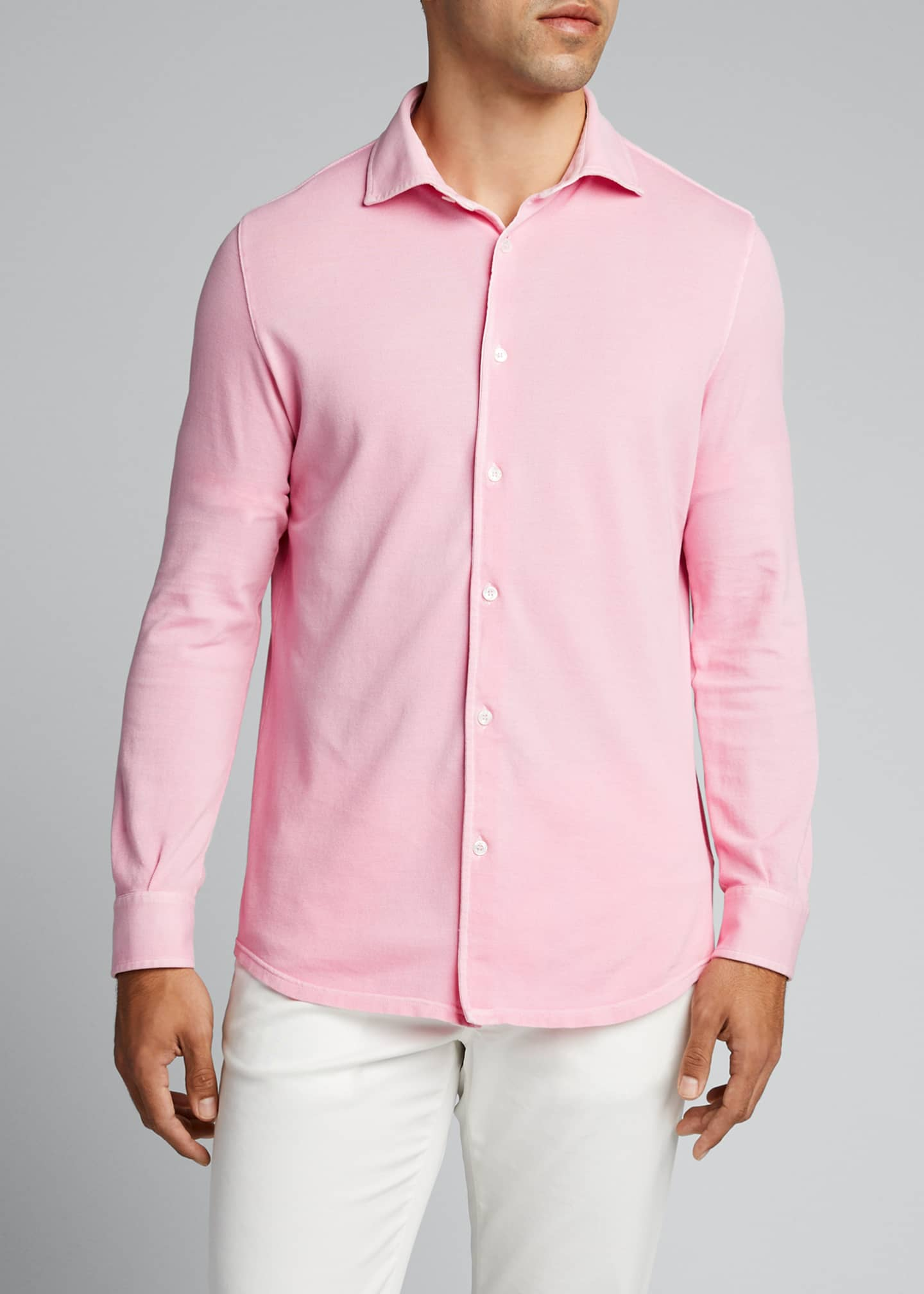 Image 3 of 5: Men's Steve Pique Sport Shirt