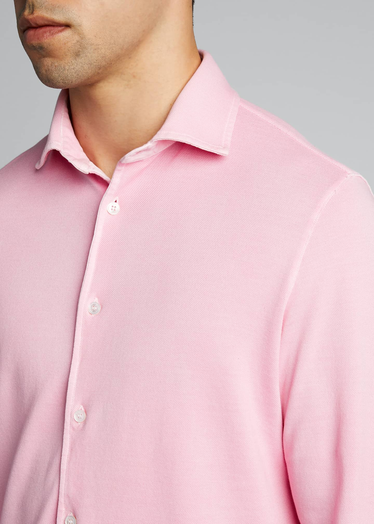 Image 4 of 5: Men's Steve Pique Sport Shirt