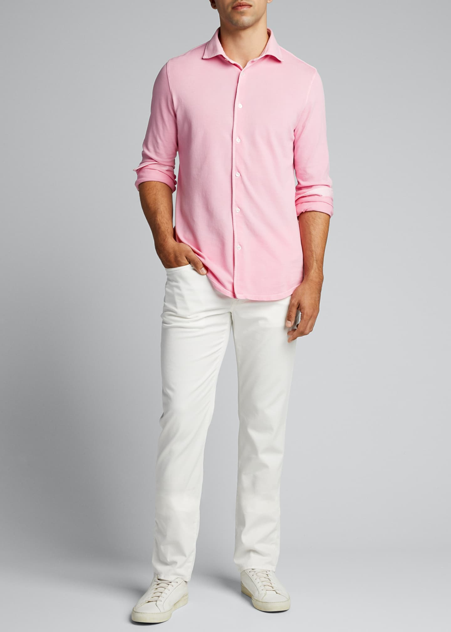 Image 1 of 5: Men's Steve Pique Sport Shirt