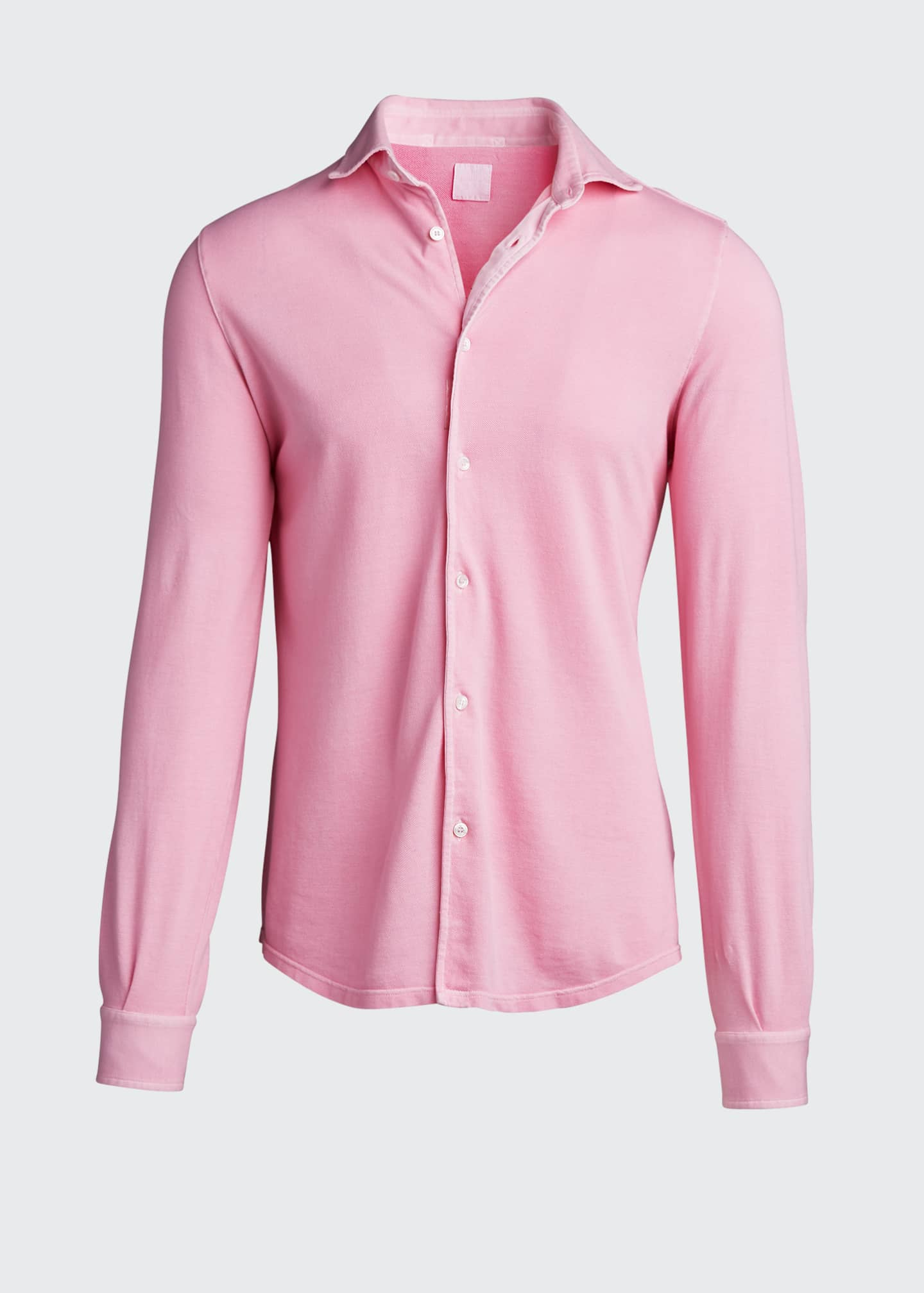 Image 5 of 5: Men's Steve Pique Sport Shirt