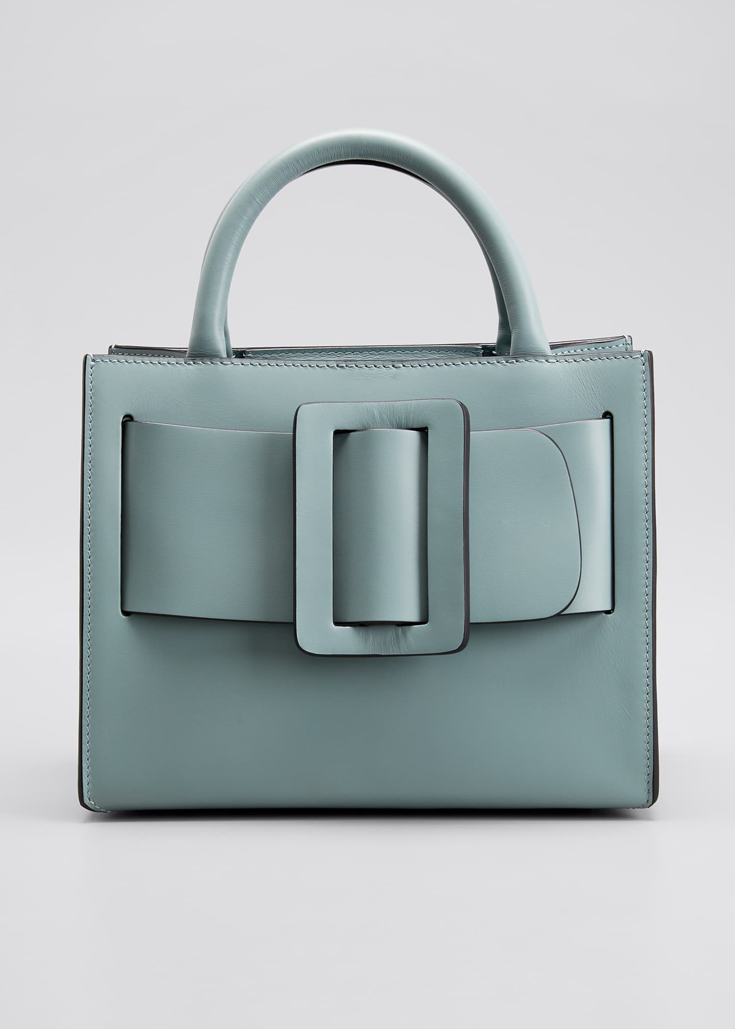 Image 1 of 5: Bobby 23 Mini Smooth Top Handle Bag