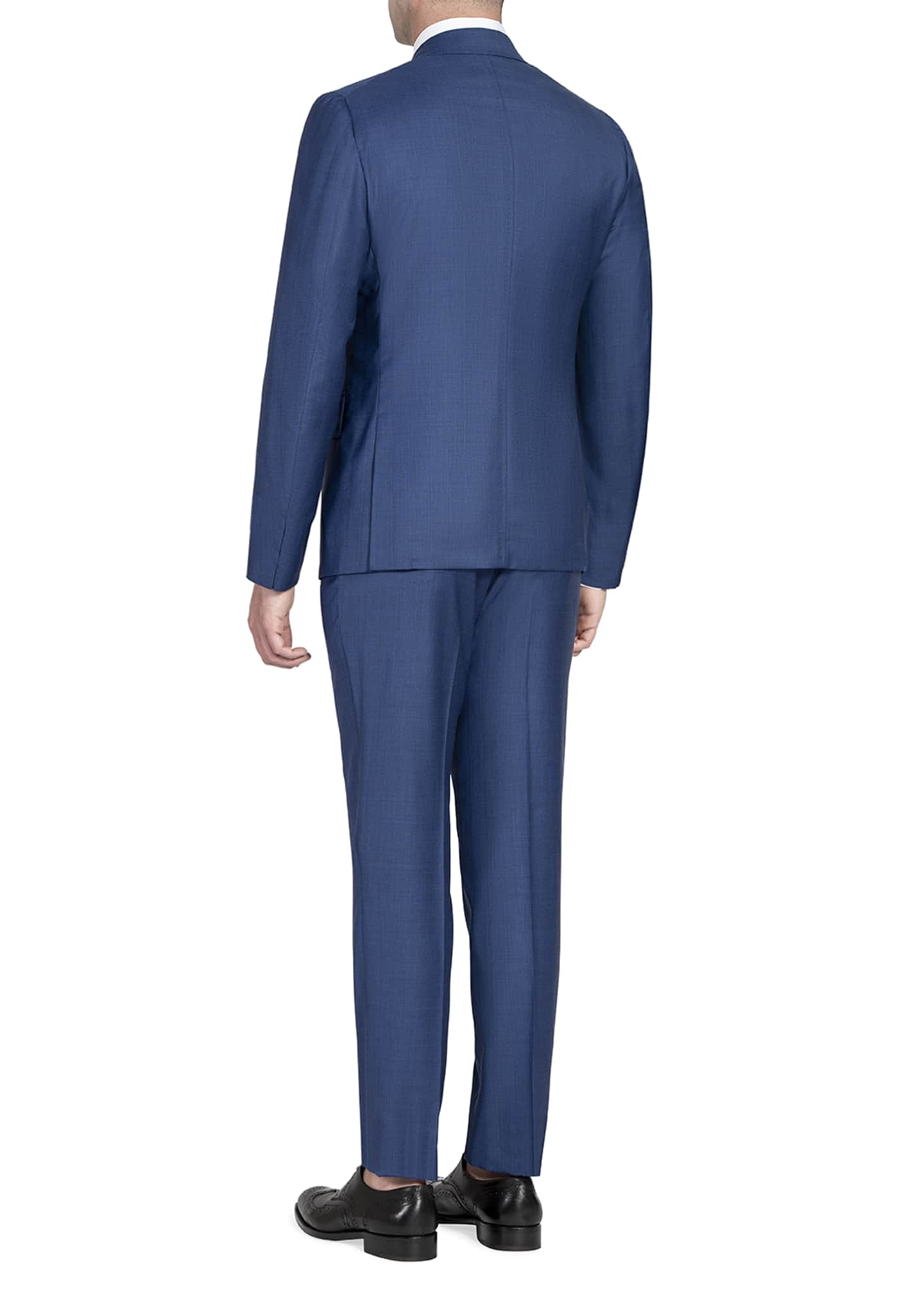 Image 2 of 4: Men's Tonal Stripe Two-Piece Suit