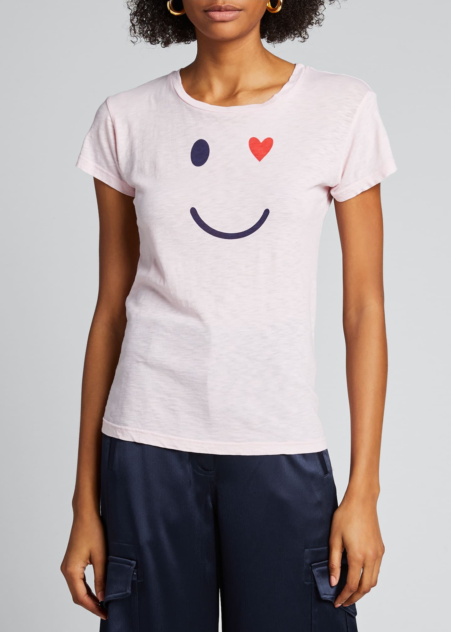 Image 3 of 5: Happy Face Boy Tee