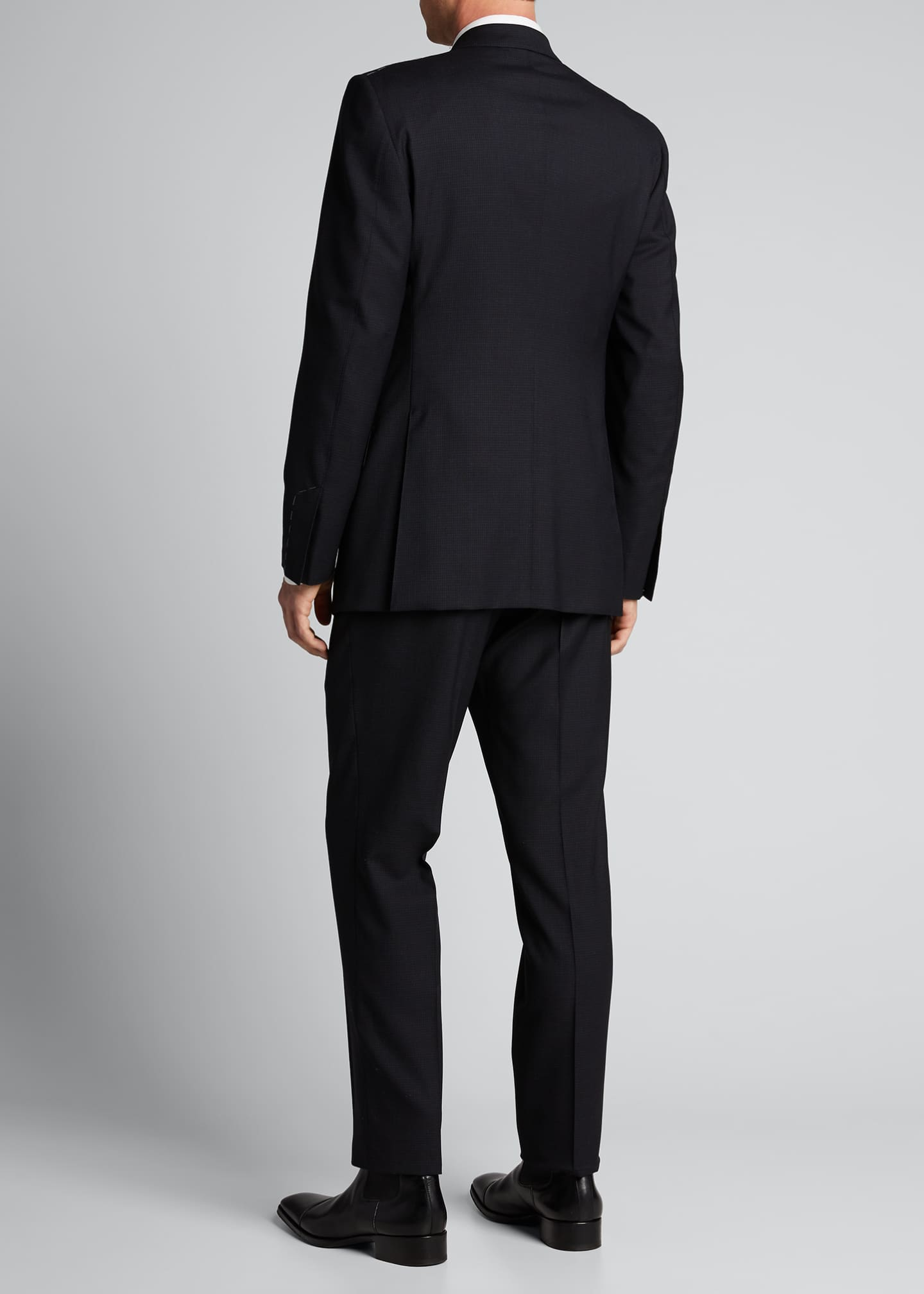 Image 2 of 5: Men's O'Connor Base Micro-Check Two-Piece Suit