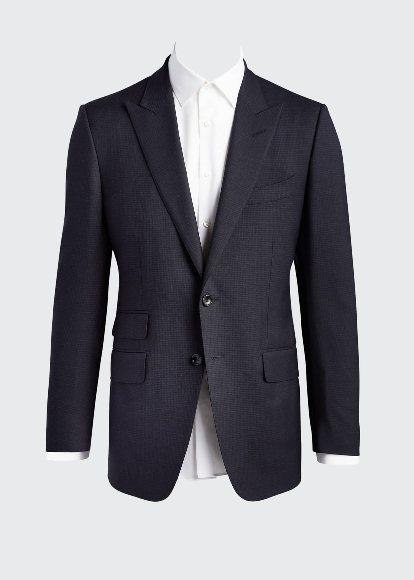 Image 5 of 5: Men's O'Connor Base Micro-Check Two-Piece Suit
