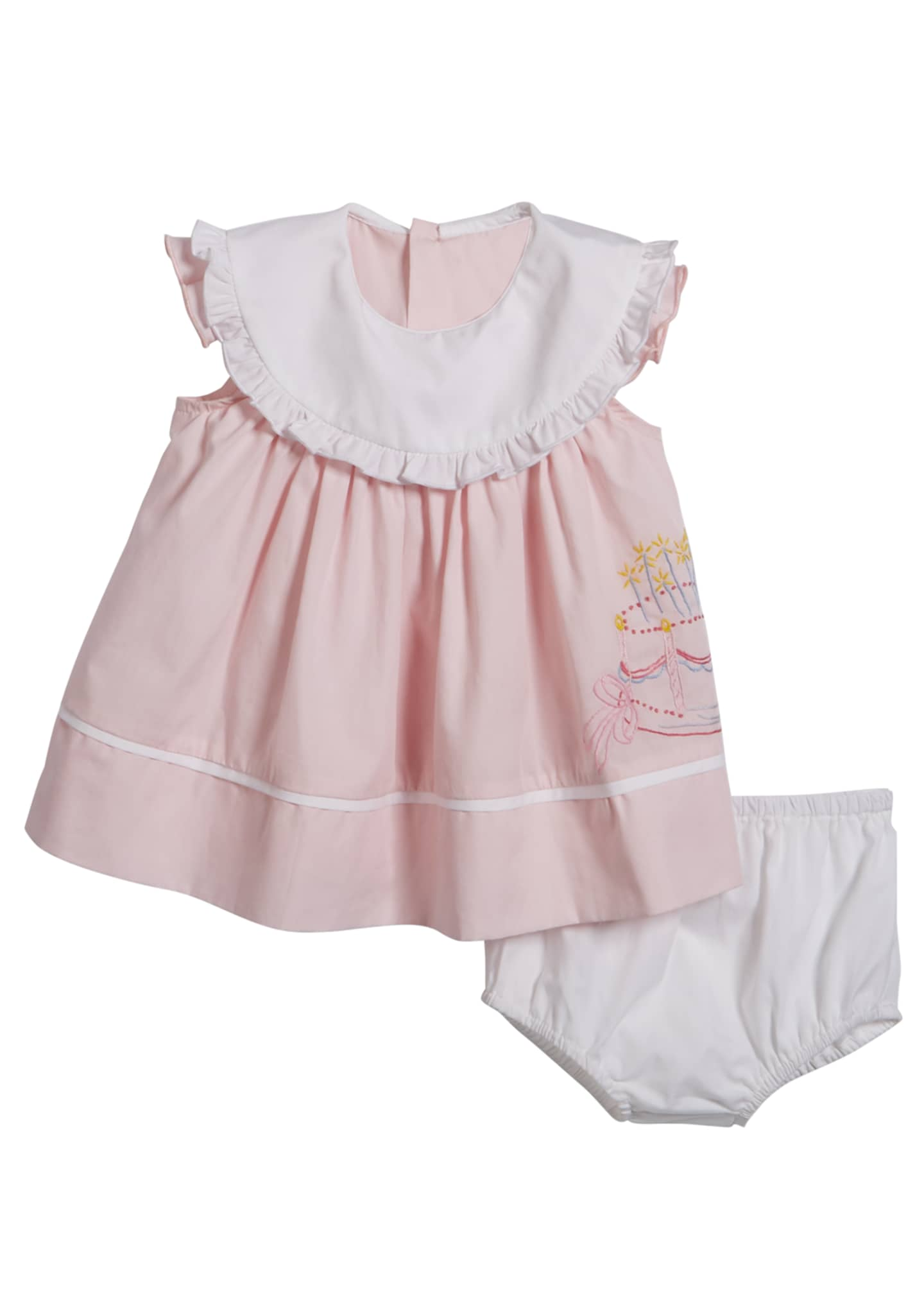 Luli & Me Birthday Dress with Bloomers, Size