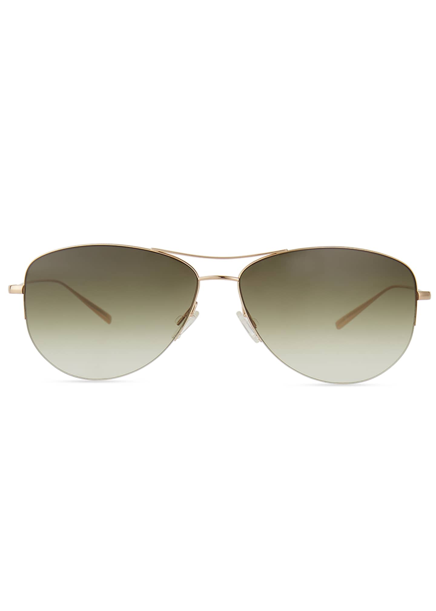 Image 2 of 3: Strummer Titanium Aviator Sunglasses