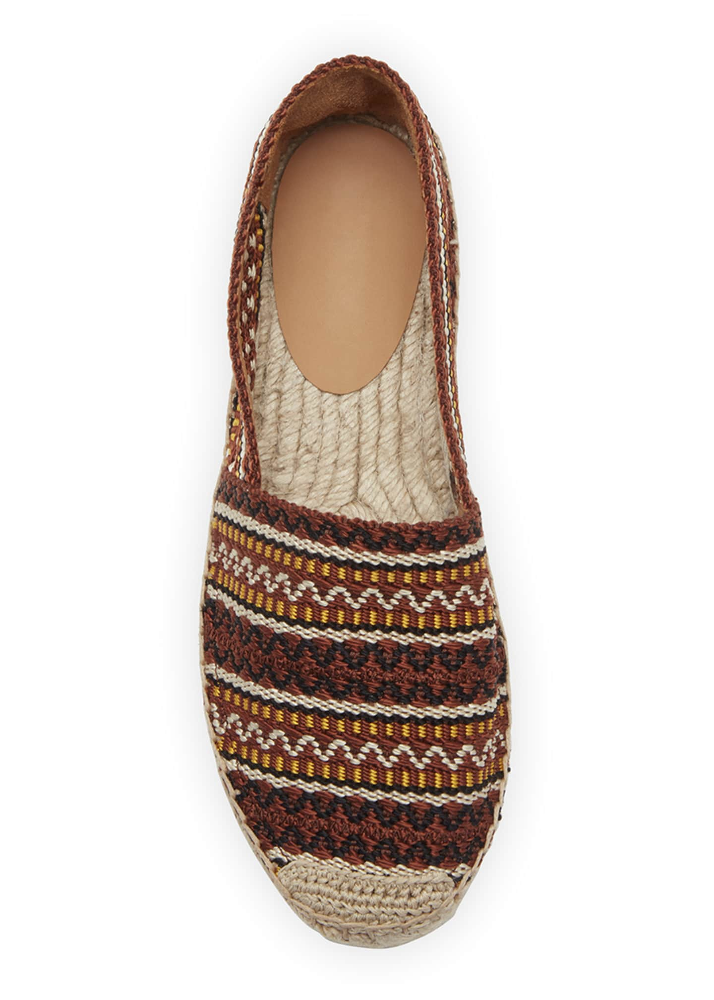 Image 3 of 3: 20mm Embroidered Espadrilles