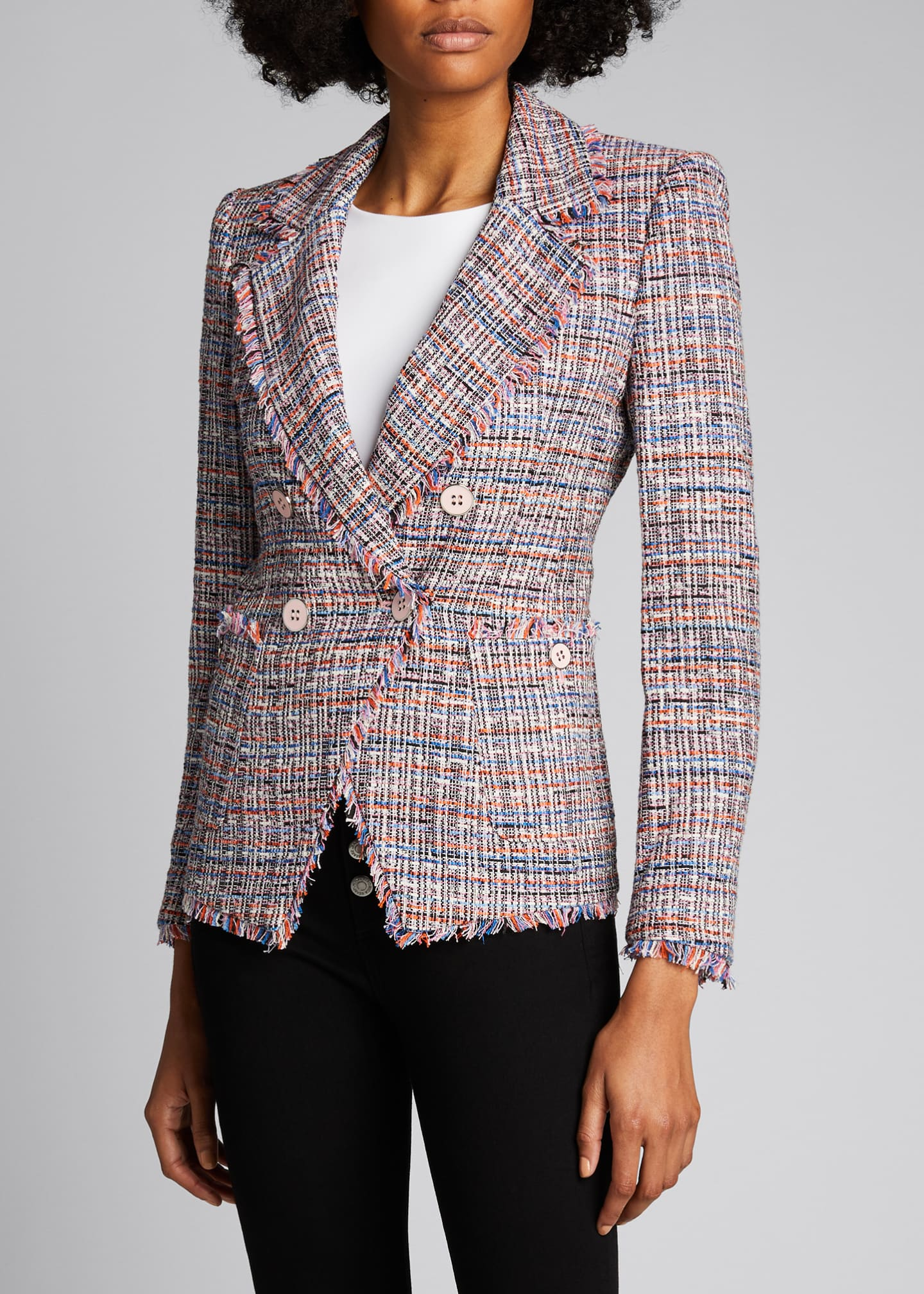 Image 3 of 3: Theron Tweed Jacket