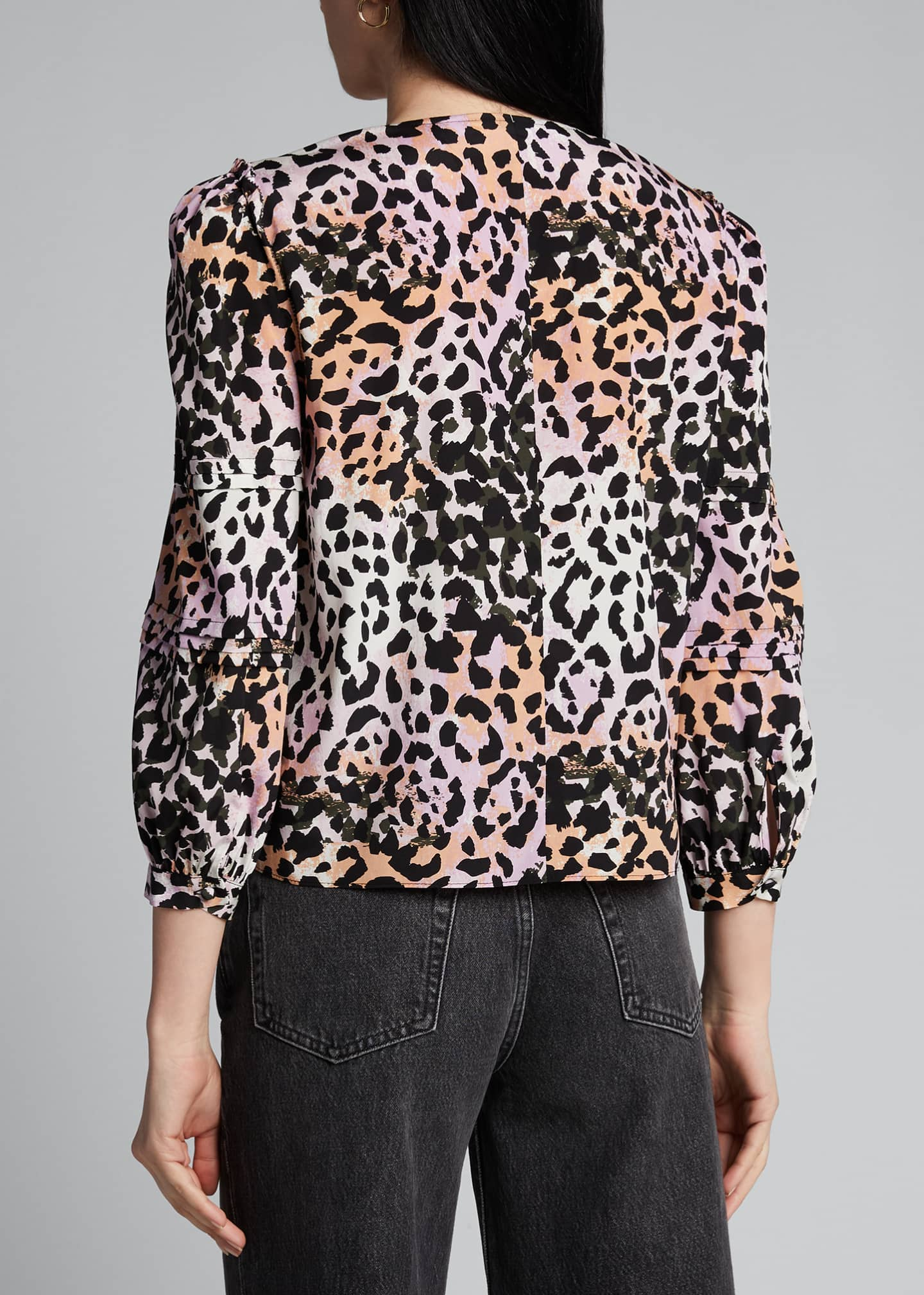 Image 2 of 5: Ramona 3/4-Sleeve Top