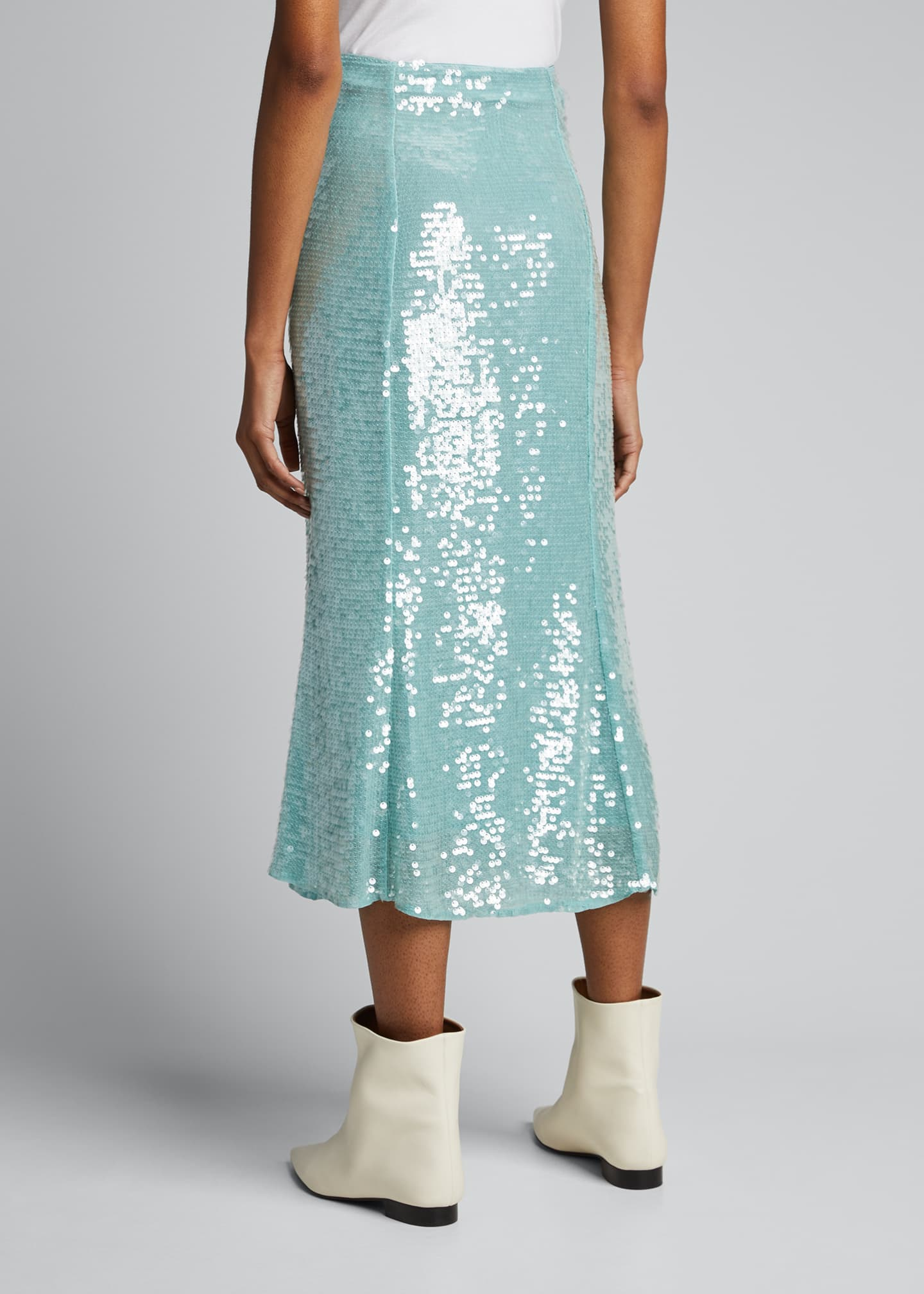 Image 2 of 5: Abigail Sequined Midi Skirt
