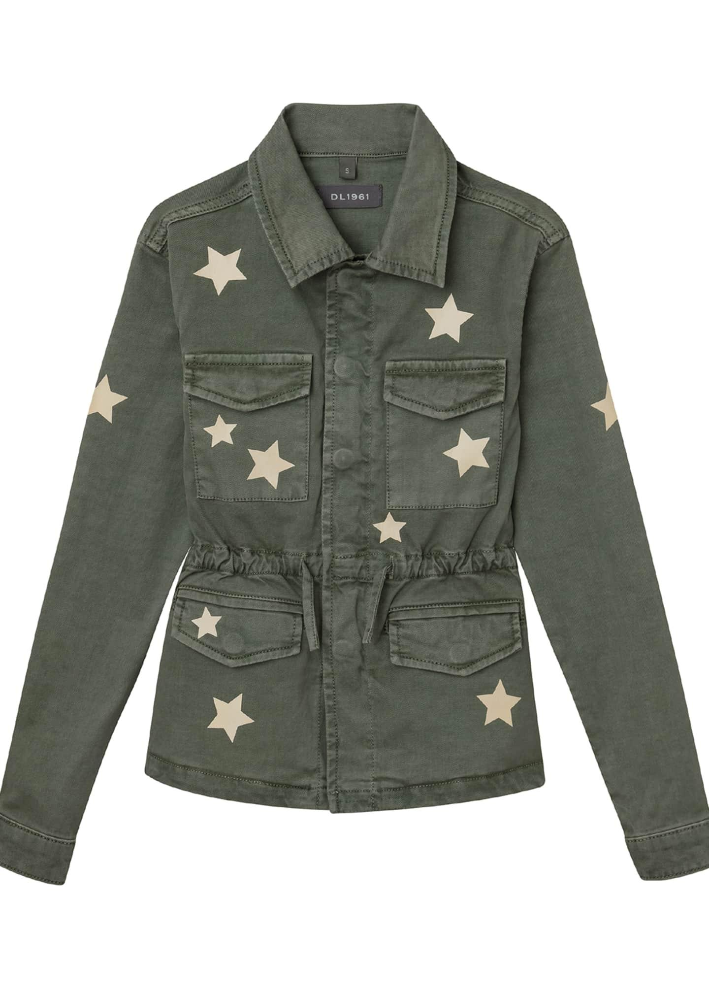 DL1961 Premium Denim Girl's Rocco Utility Jacket with