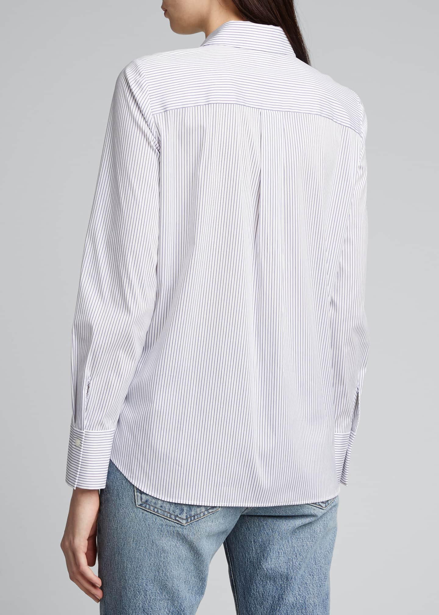 Image 2 of 5: Scottie Long-Sleeve Felicity Stripe Blouse