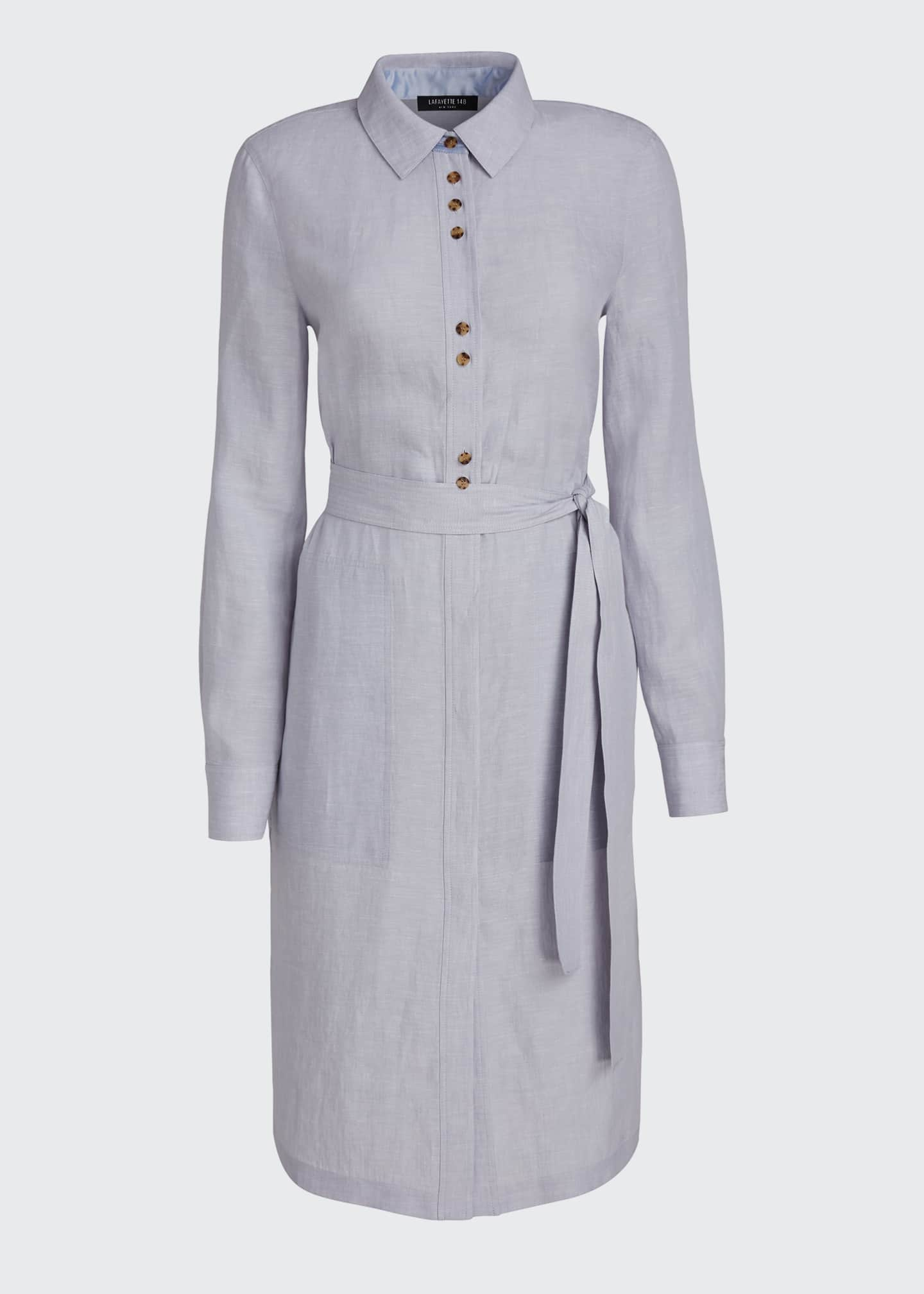 Image 5 of 5: Michlle Illustrious Linen Duster Dress