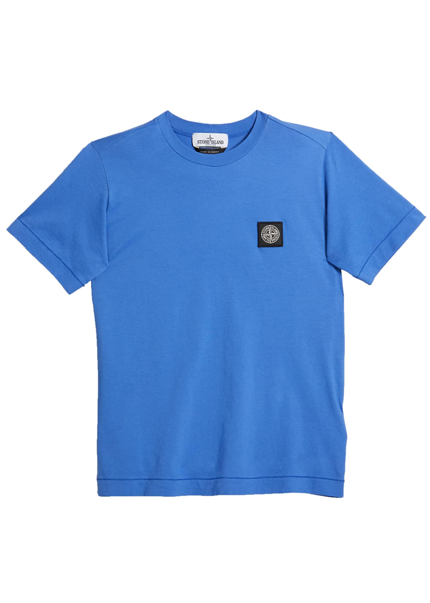 Image 1 of 1: Boy's Logo Patch Short-Sleeve Tee, Size 14