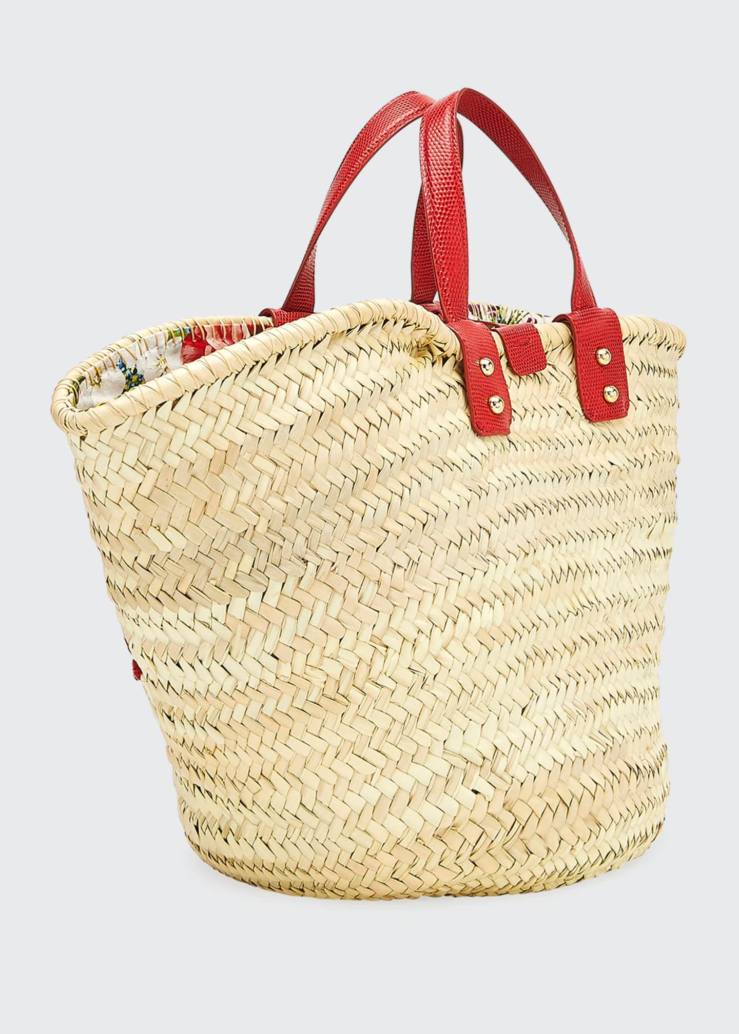 Image 3 of 3: The Kendra Straw Tote Bag