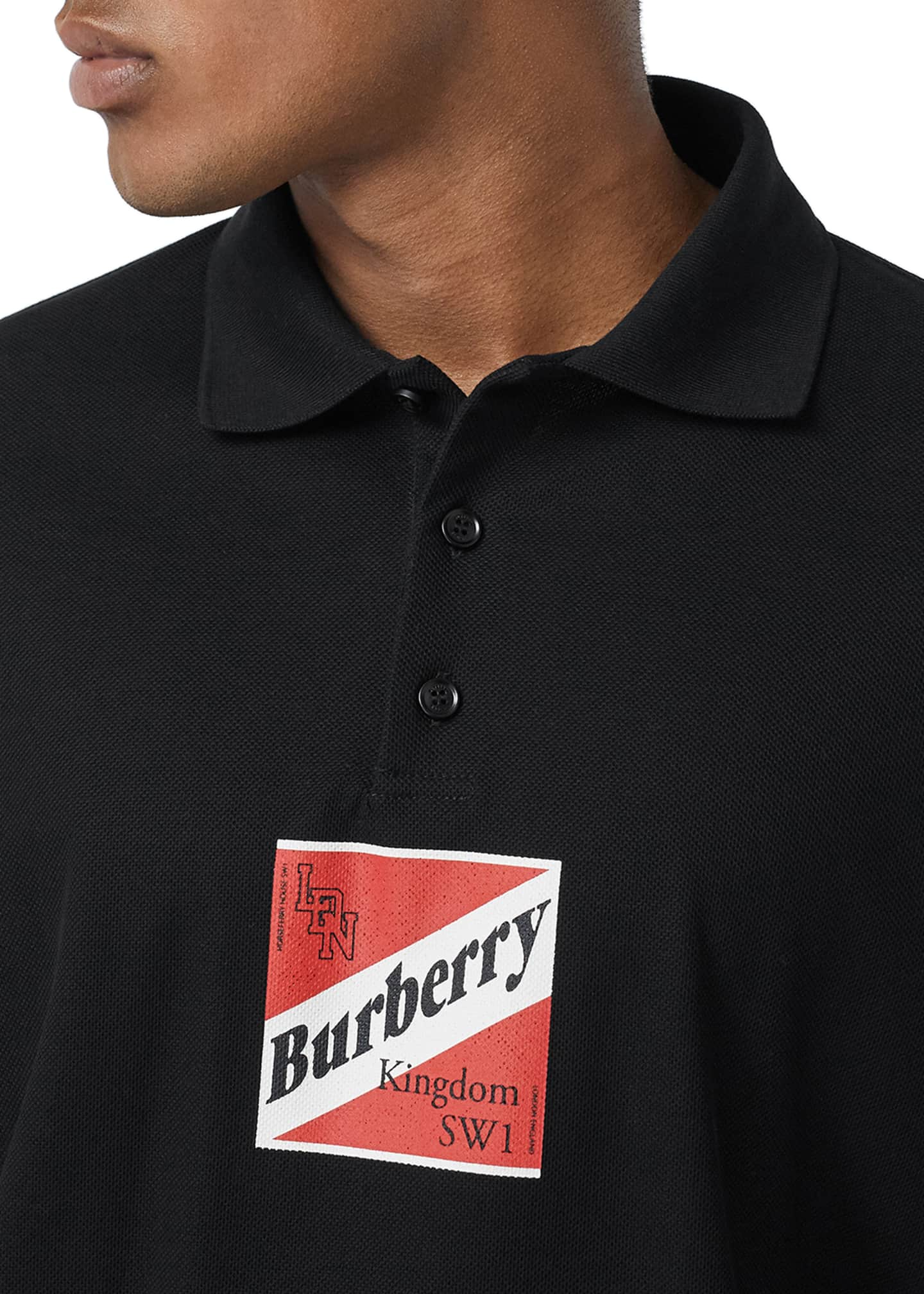 Image 3 of 3: Men's Timmons Graphic Polo Shirt