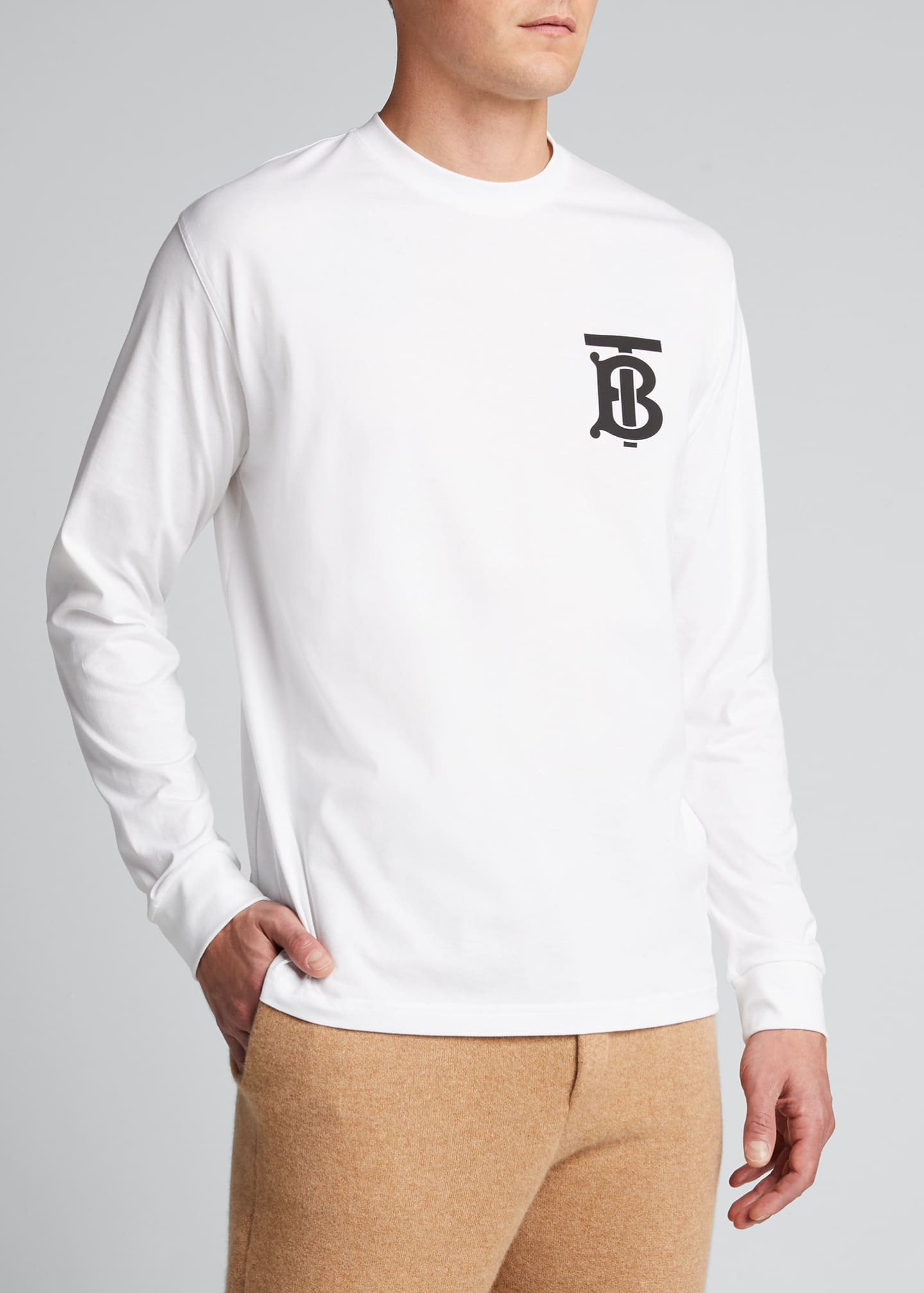 Image 3 of 5: Men's Atherton TB Long-Sleeve Shirt