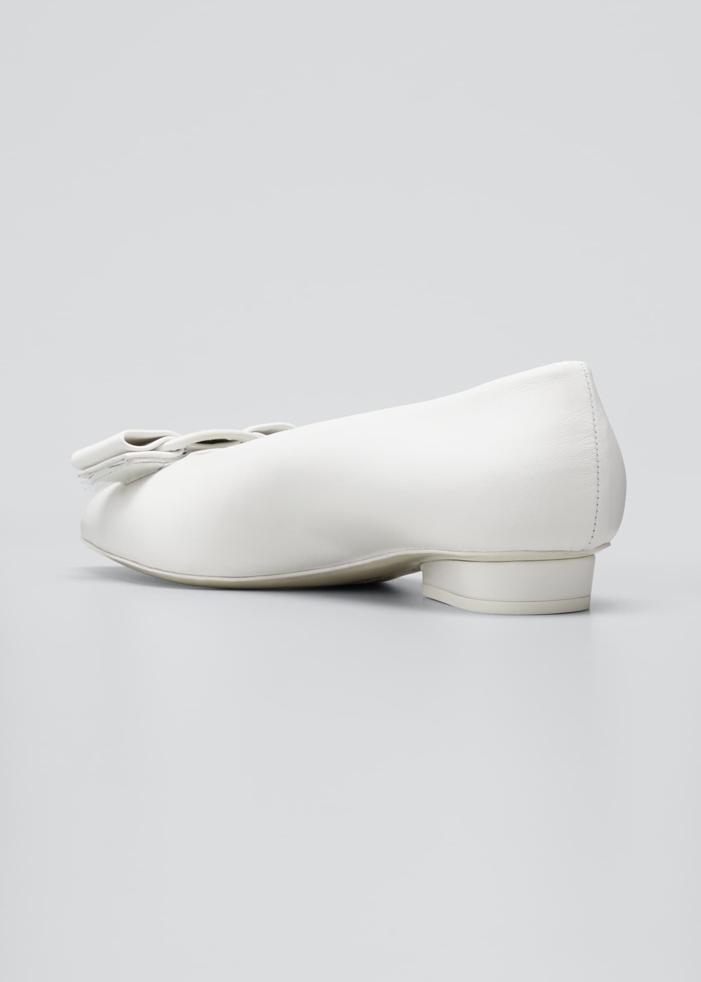 Image 2 of 3: Viva Bow Pointed-Toe Ballet Flats