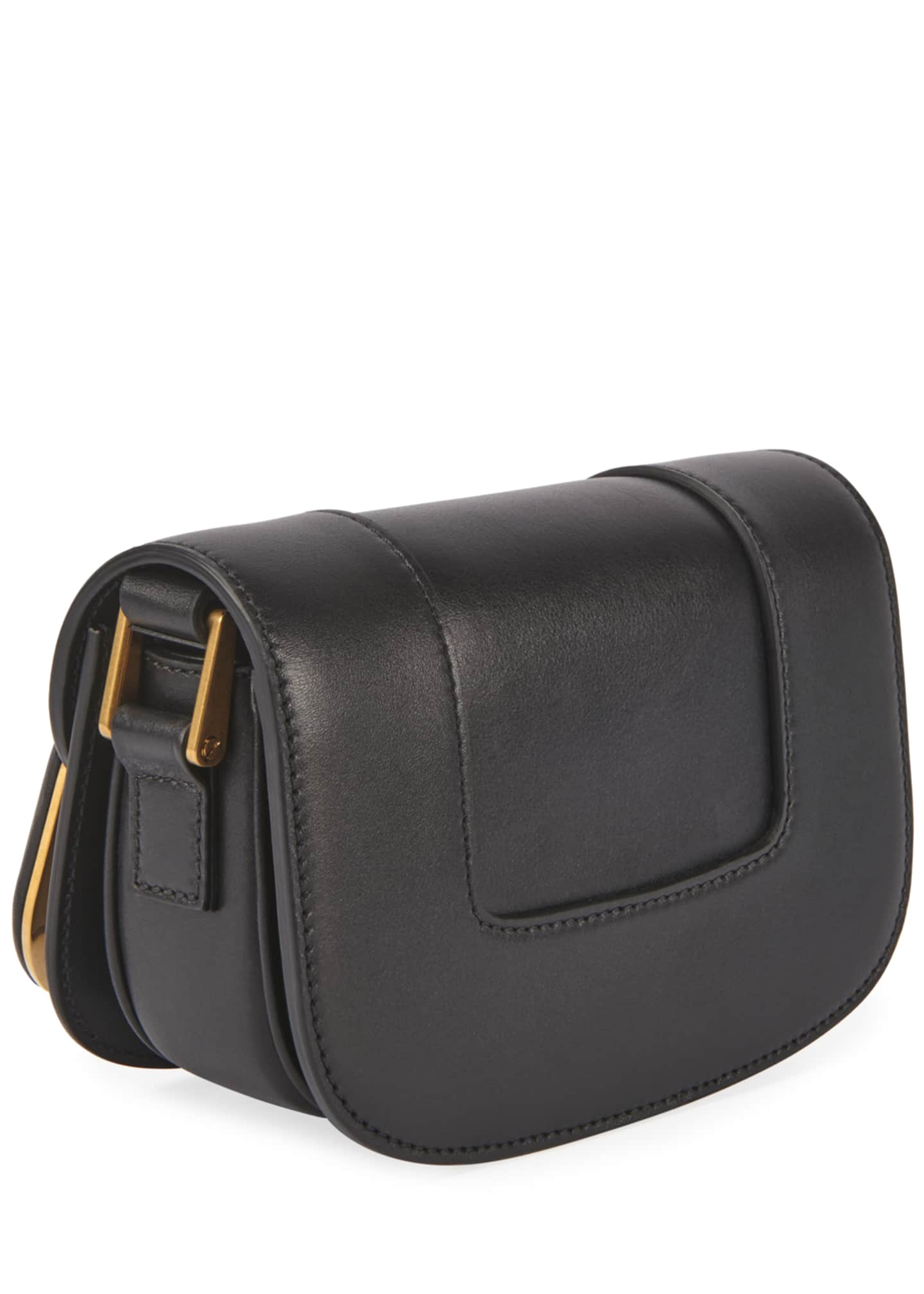 Image 3 of 3: Supervee Small Leather Shoulder Bag