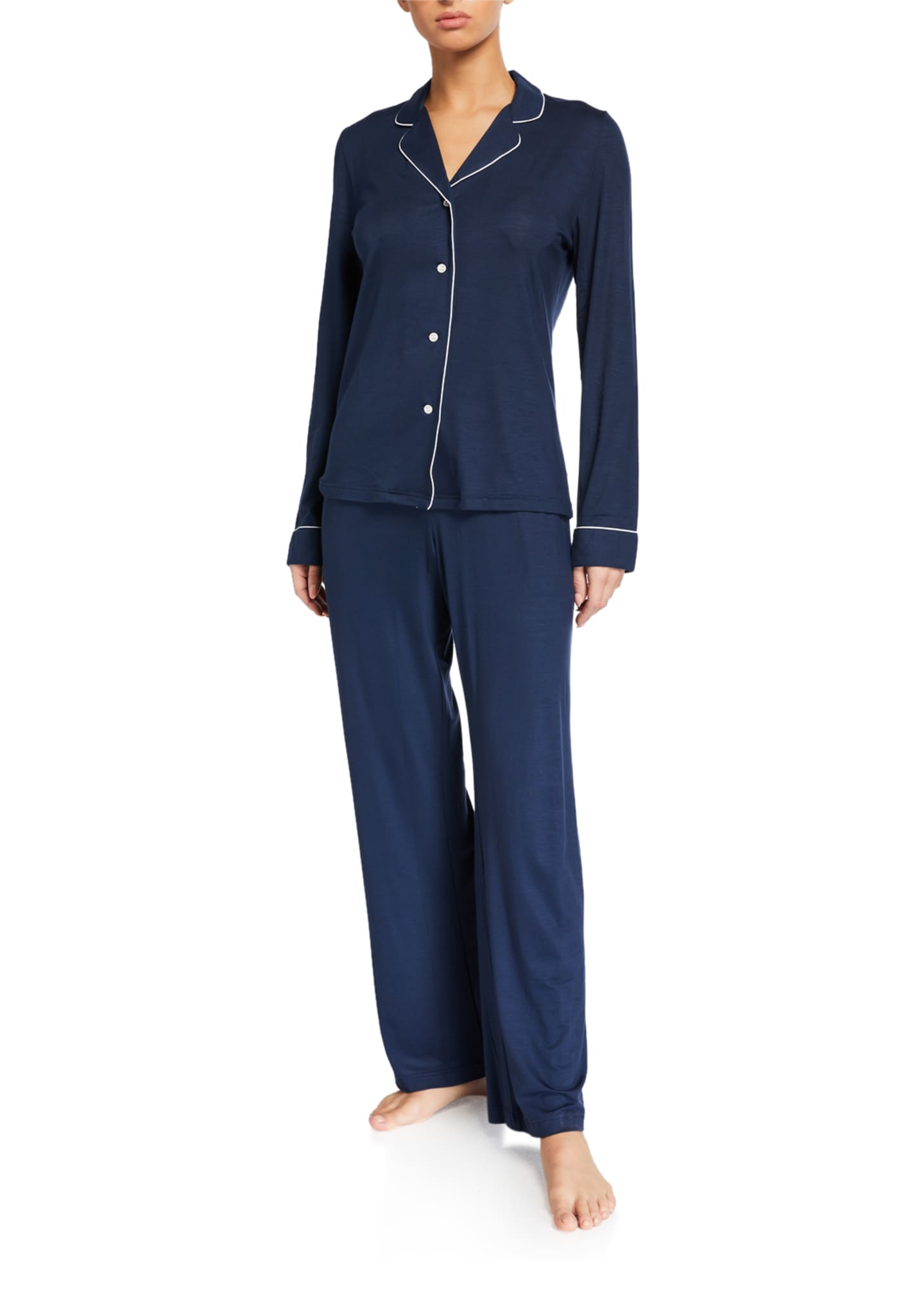 Image 1 of 2: Lara 1 Jersey Pajama Set
