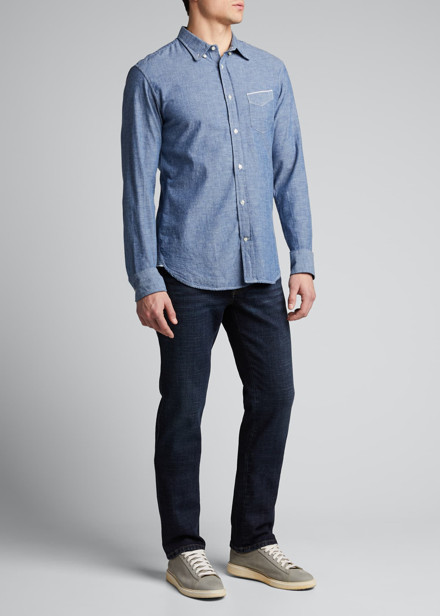 Image 1 of 5: Men's Slim Stretch-Denim Jeans