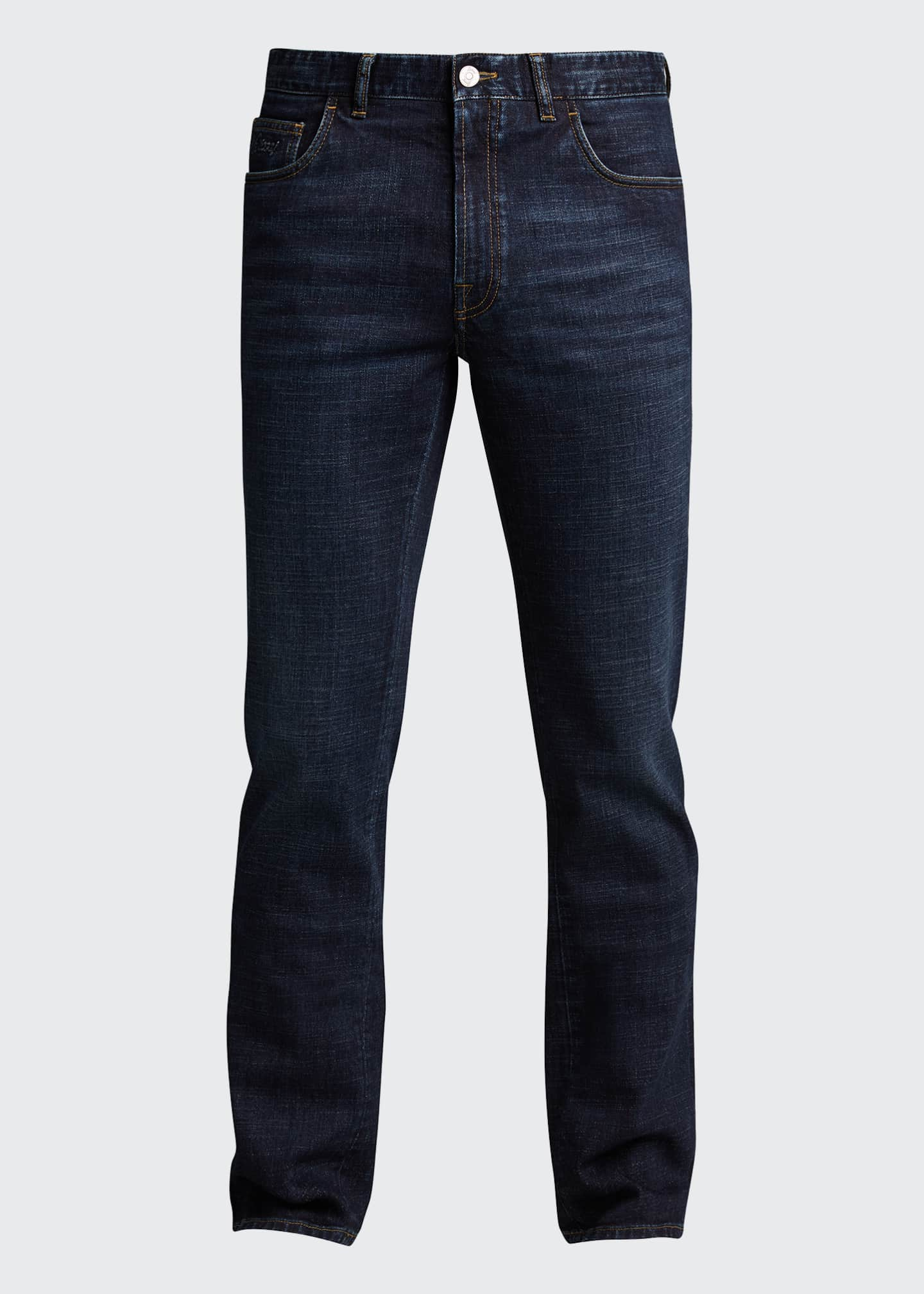 Image 5 of 5: Men's Slim Stretch-Denim Jeans
