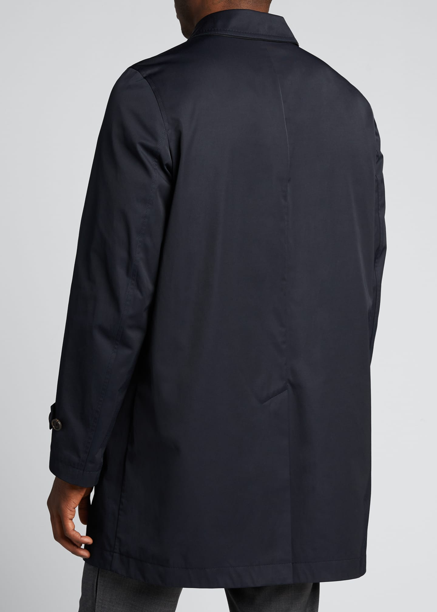 Image 2 of 5: Men's Trench Coat
