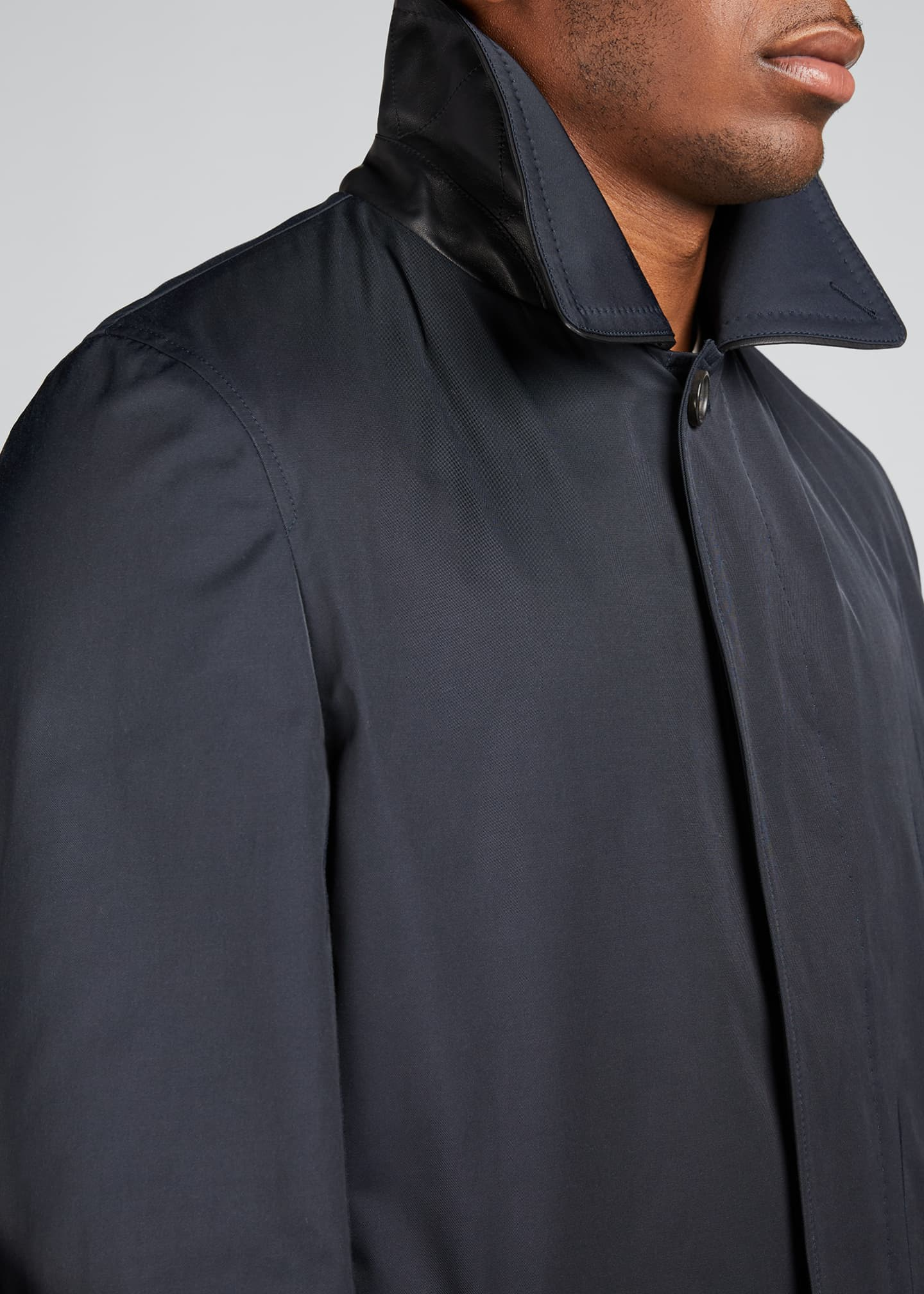 Image 4 of 5: Men's Trench Coat
