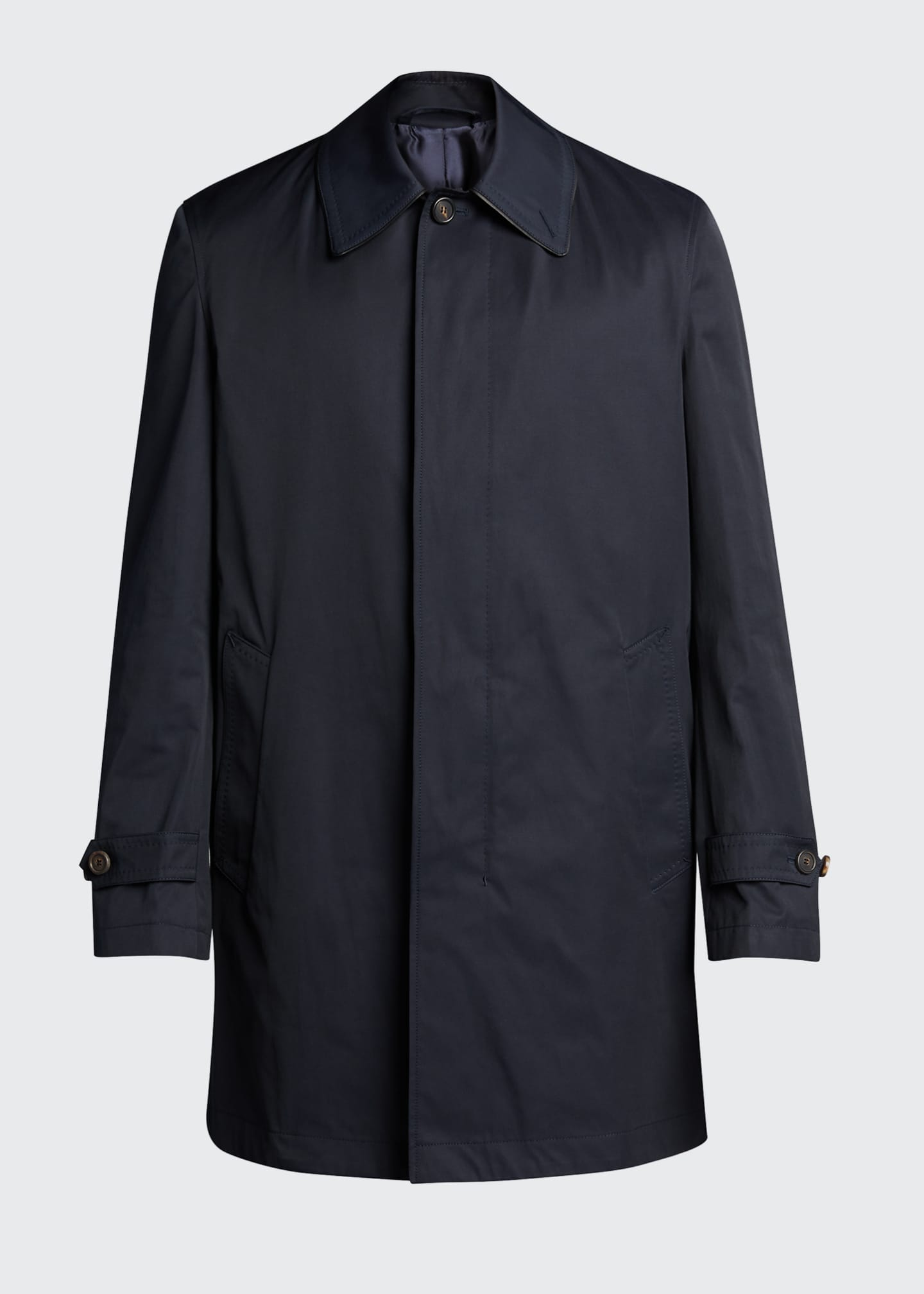 Image 5 of 5: Men's Trench Coat