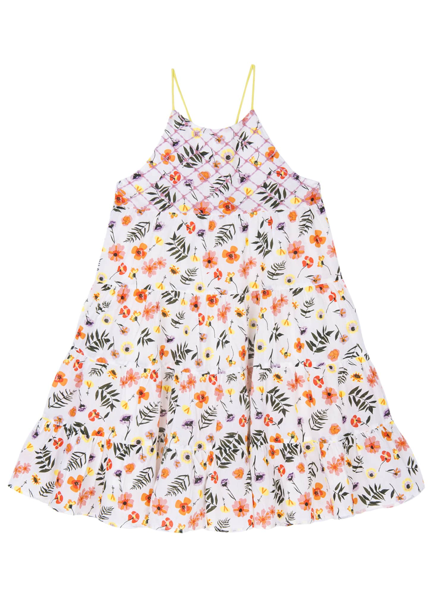 Image 1 of 3: Lara Floral Sun Dress, Size 4-6
