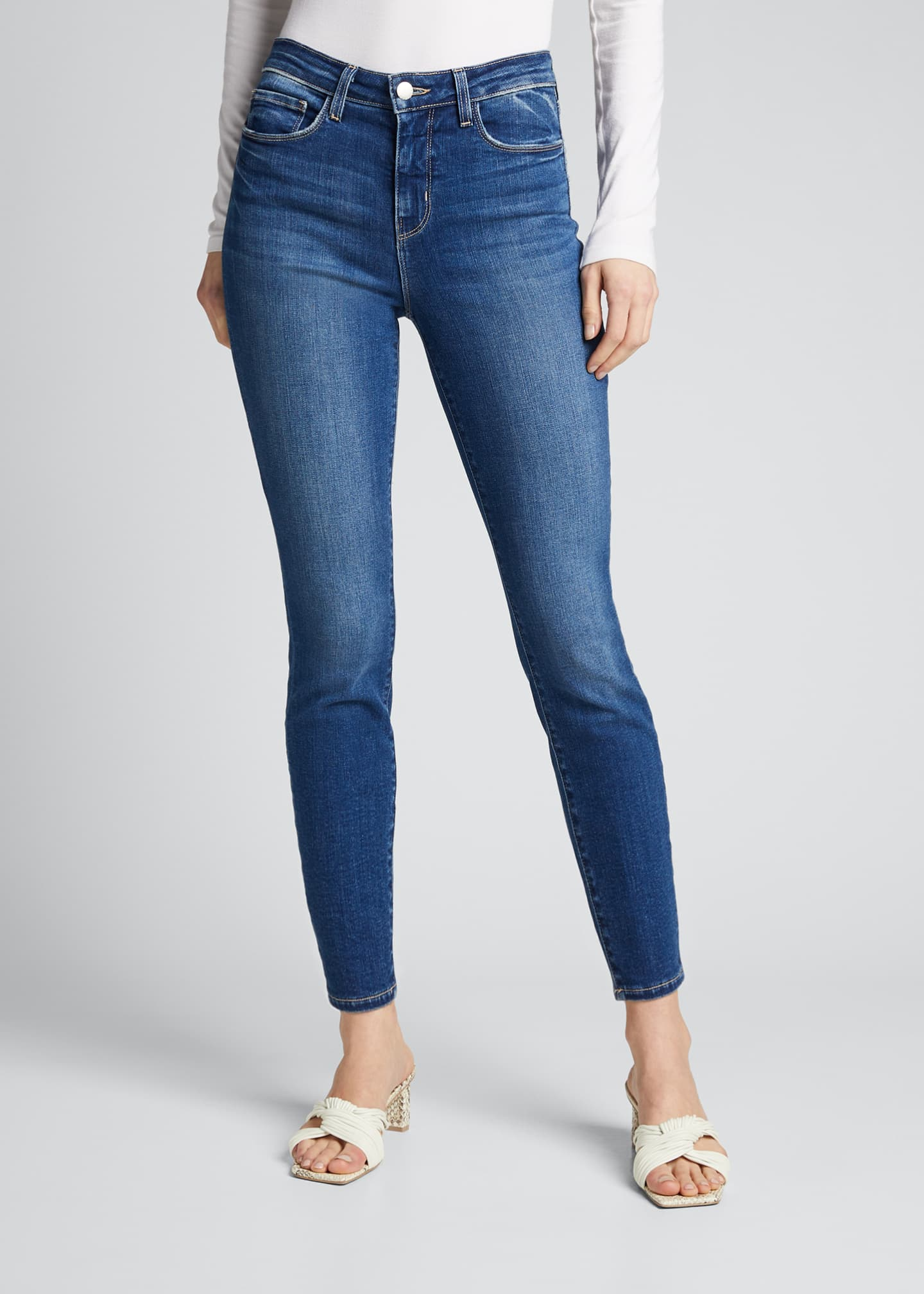 Image 3 of 5: Margot High-Rise Skinny Crop Jeans